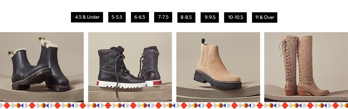 Women's boots.
