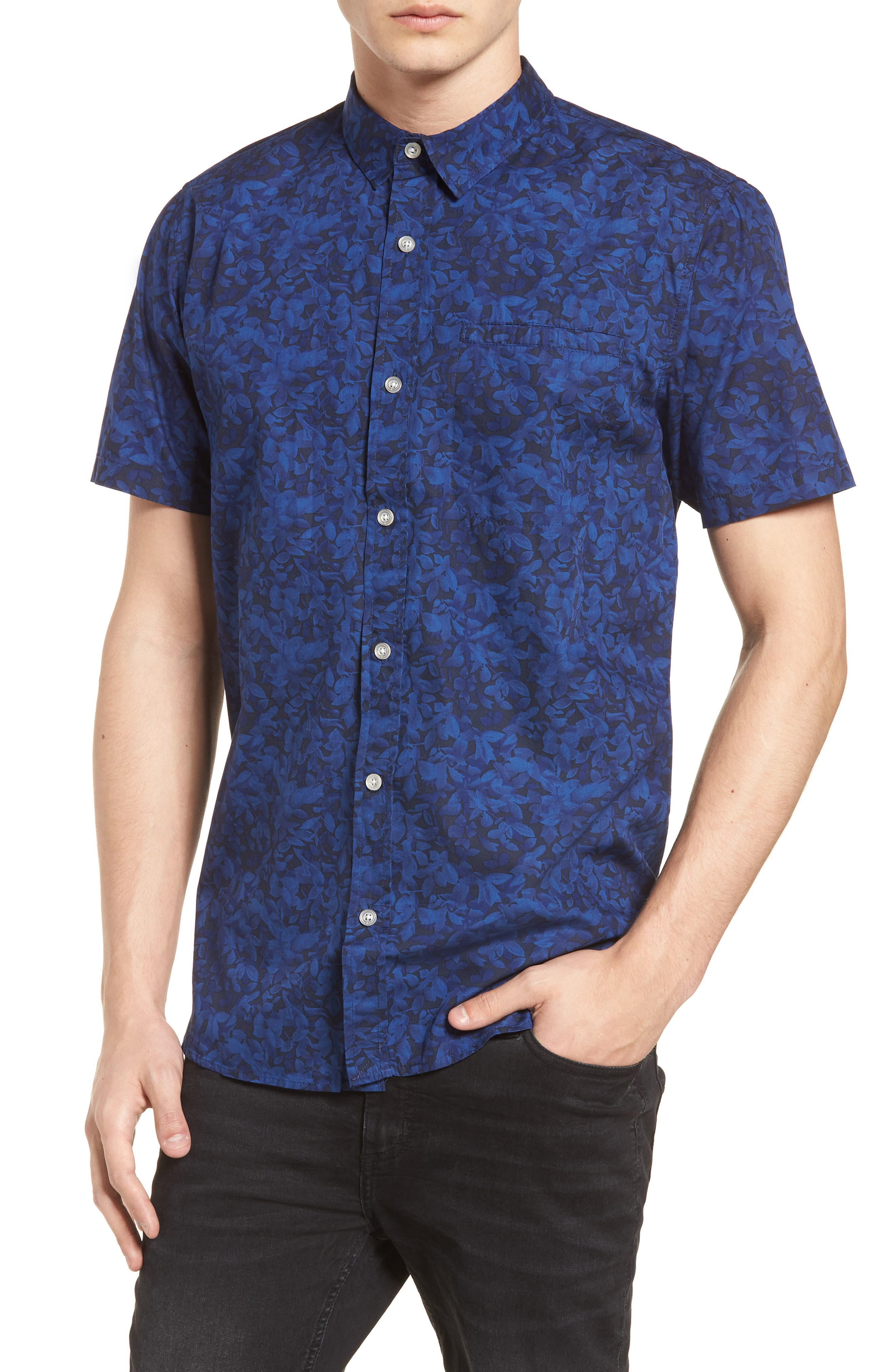 Porter Woven Shirt,                             Main thumbnail 6, color,