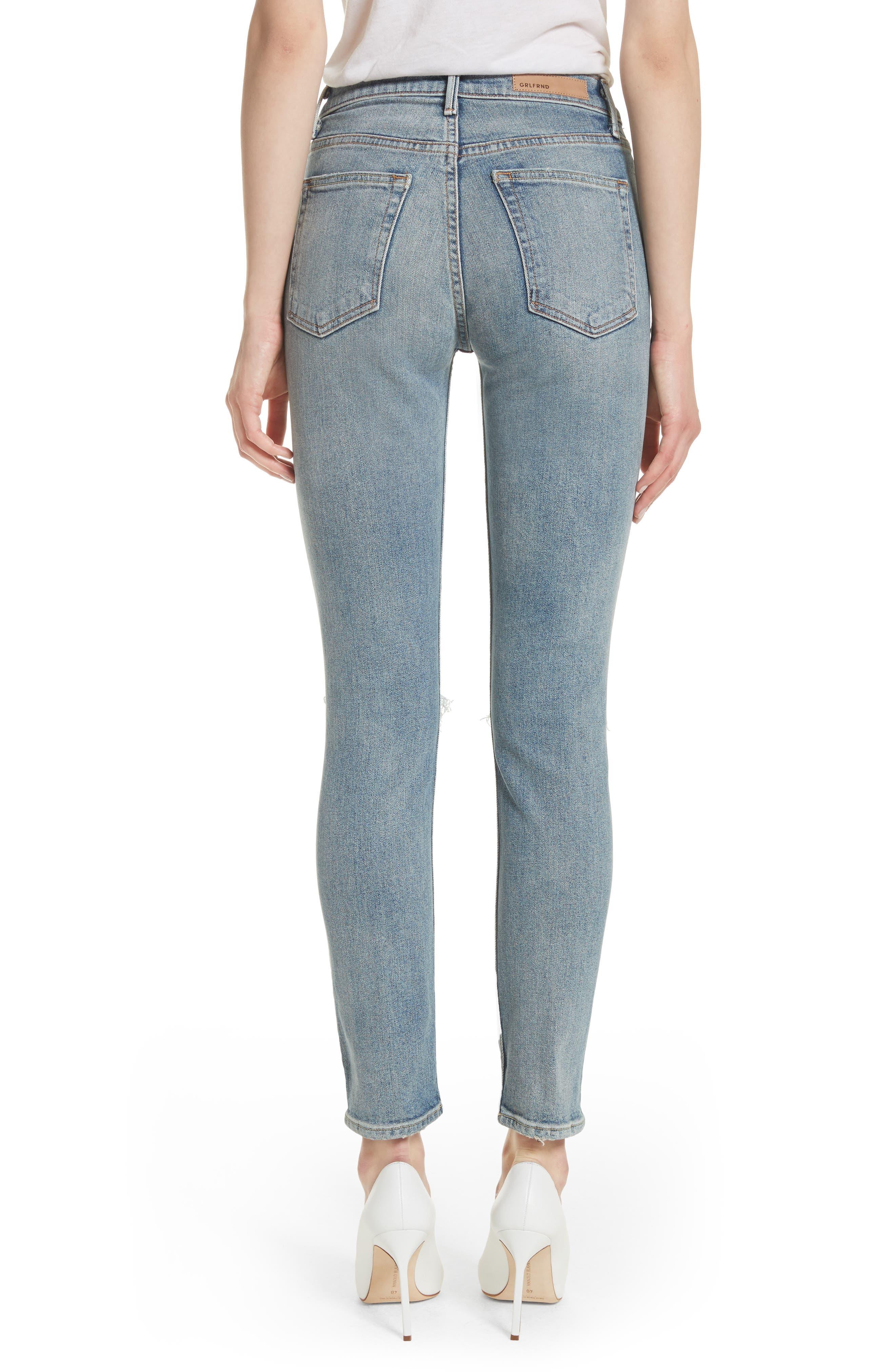 Karolina High Waist Jeans,                             Alternate thumbnail 2, color,                             WHAT IS LIFE