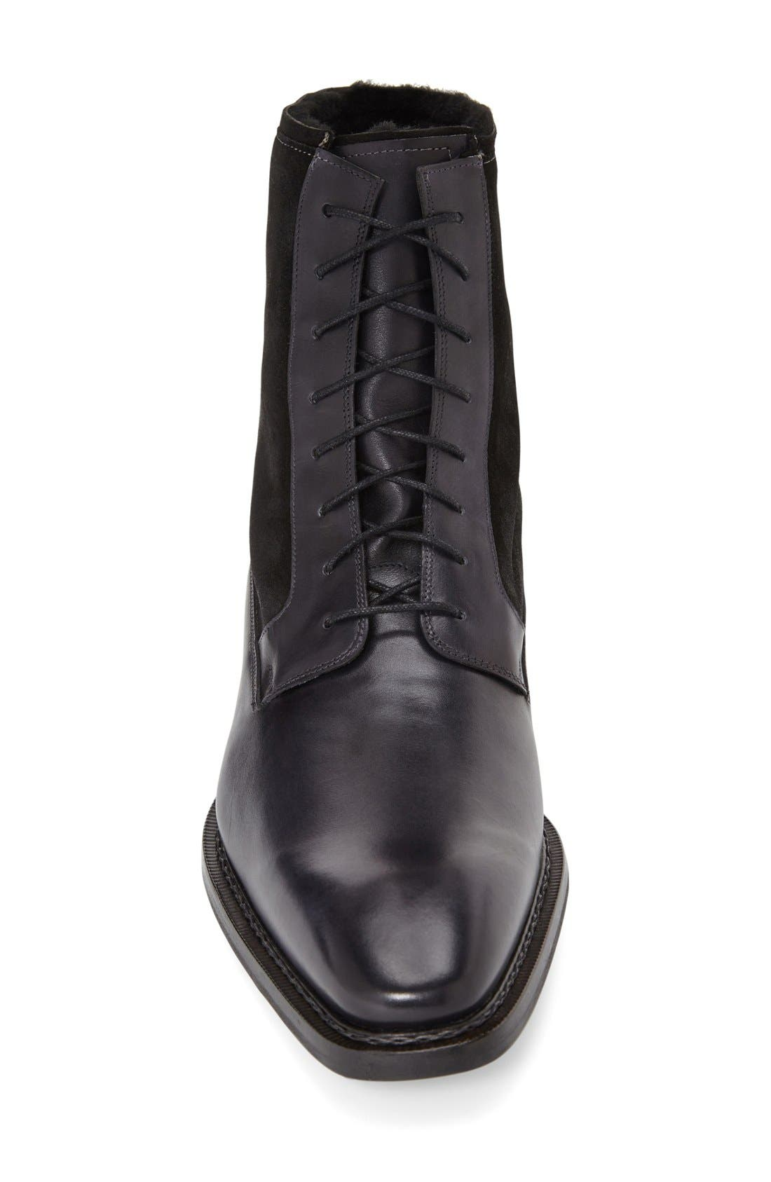'Luzern' Genuine Shearling Boot,                             Alternate thumbnail 6, color,