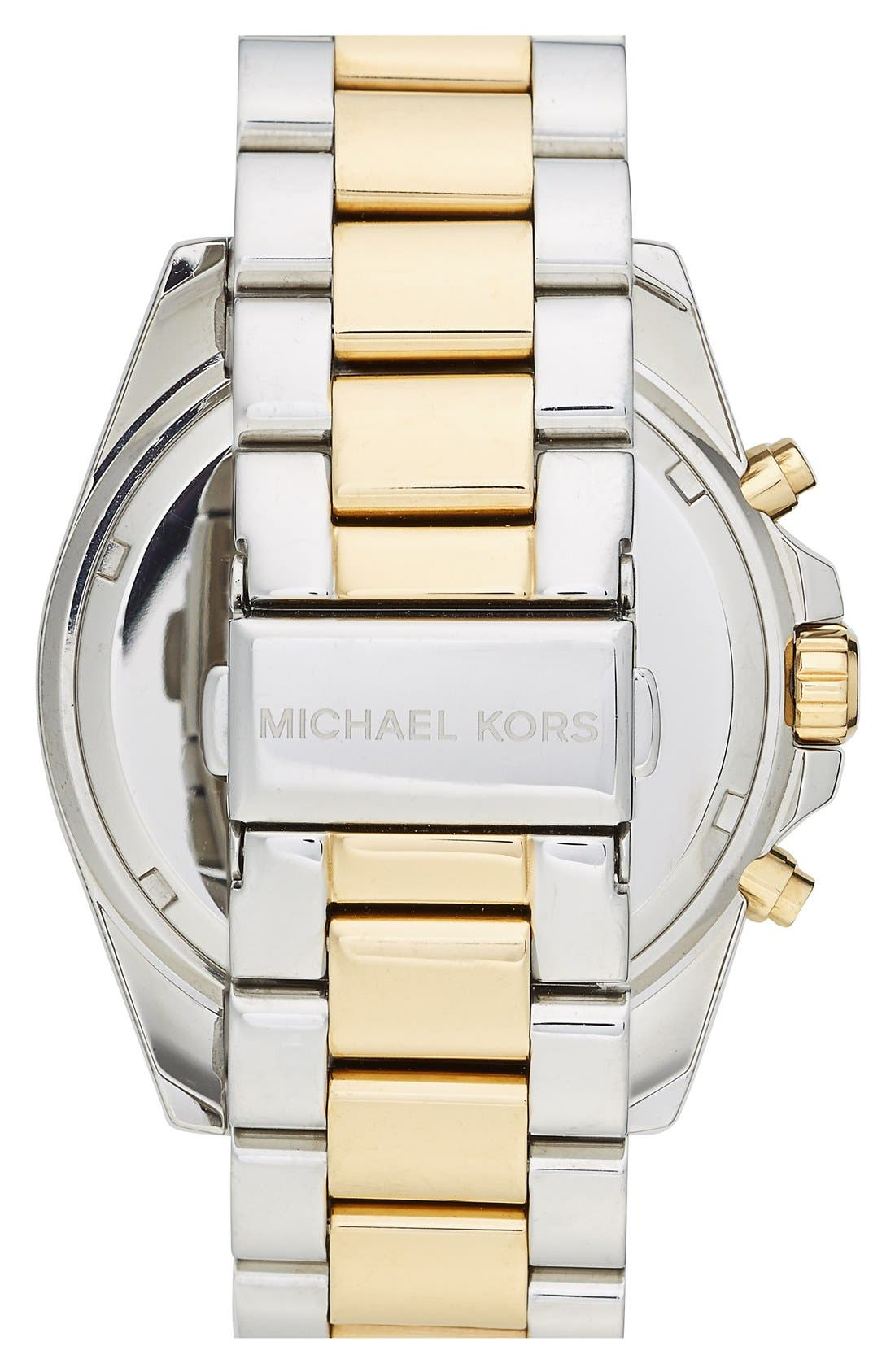 Michael Kors 'Bailey' Chronograph Bracelet Watch, 39mm,                             Alternate thumbnail 2, color,                             040