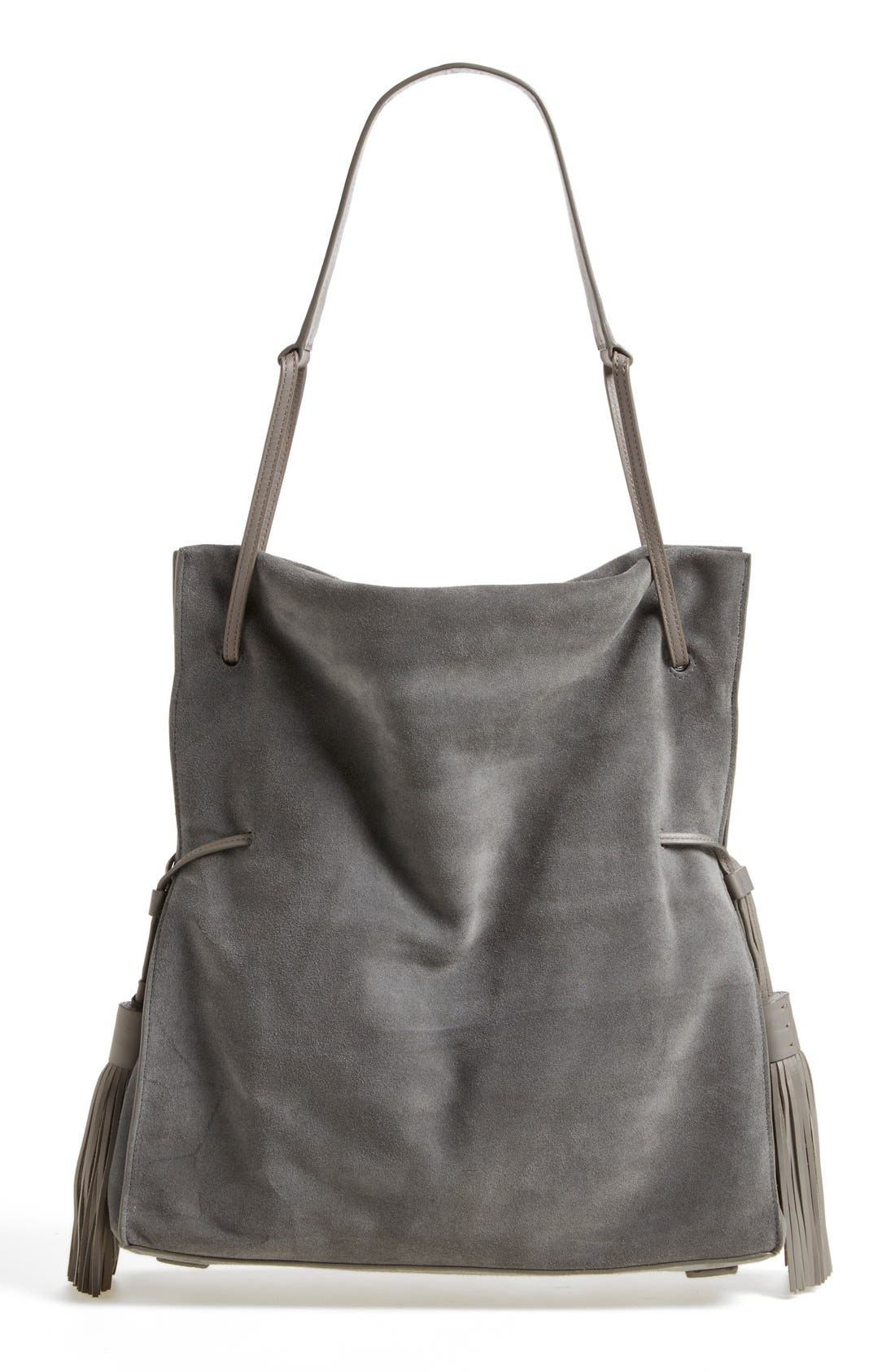 Freedom Suede Hobo,                             Alternate thumbnail 14, color,