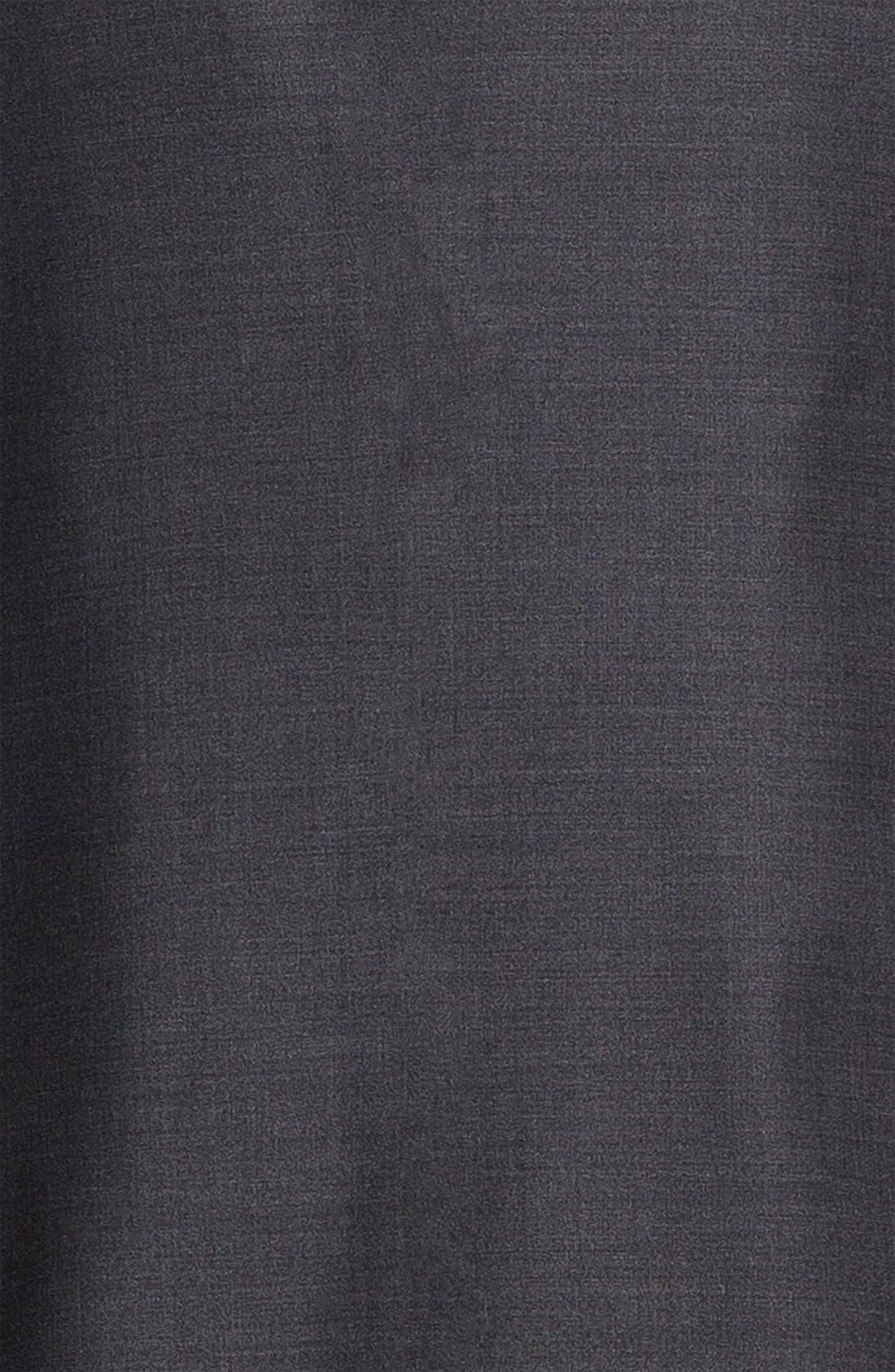 SAMUELSOHN,                             'Performance' Stretch Wool Suit,                             Alternate thumbnail 6, color,                             020