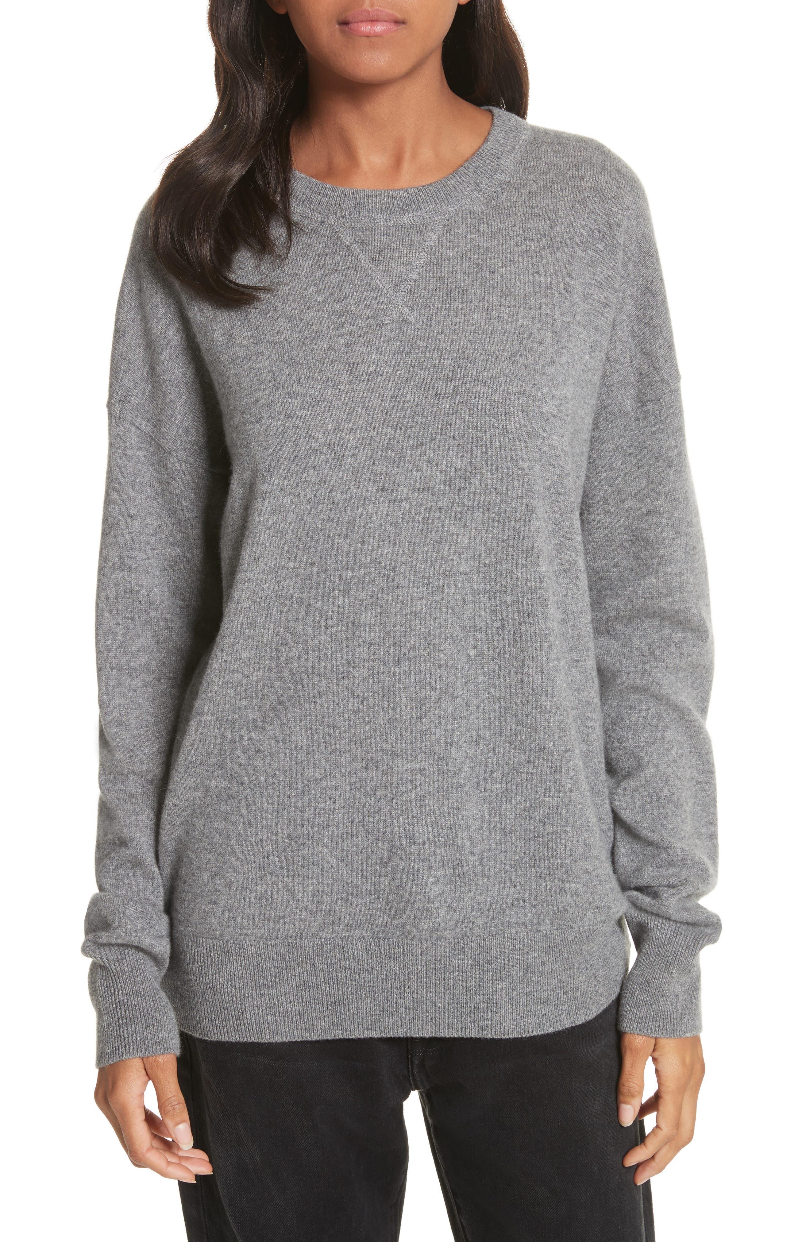 Renee Cashmere Sweatshirt,                             Main thumbnail 1, color,                             033