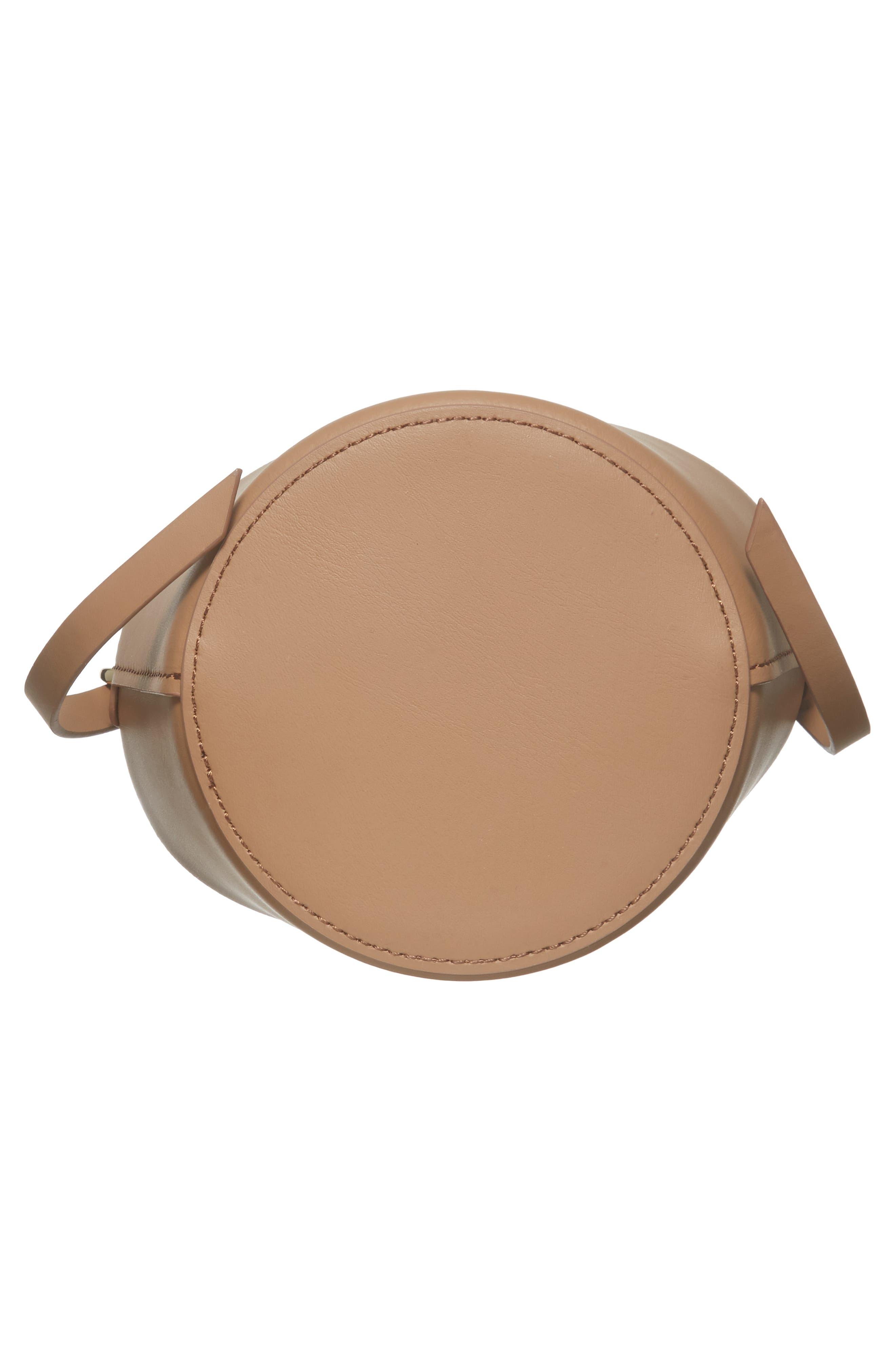 Mini Belay Calfskin Leather Drawstring Bag,                             Alternate thumbnail 16, color,