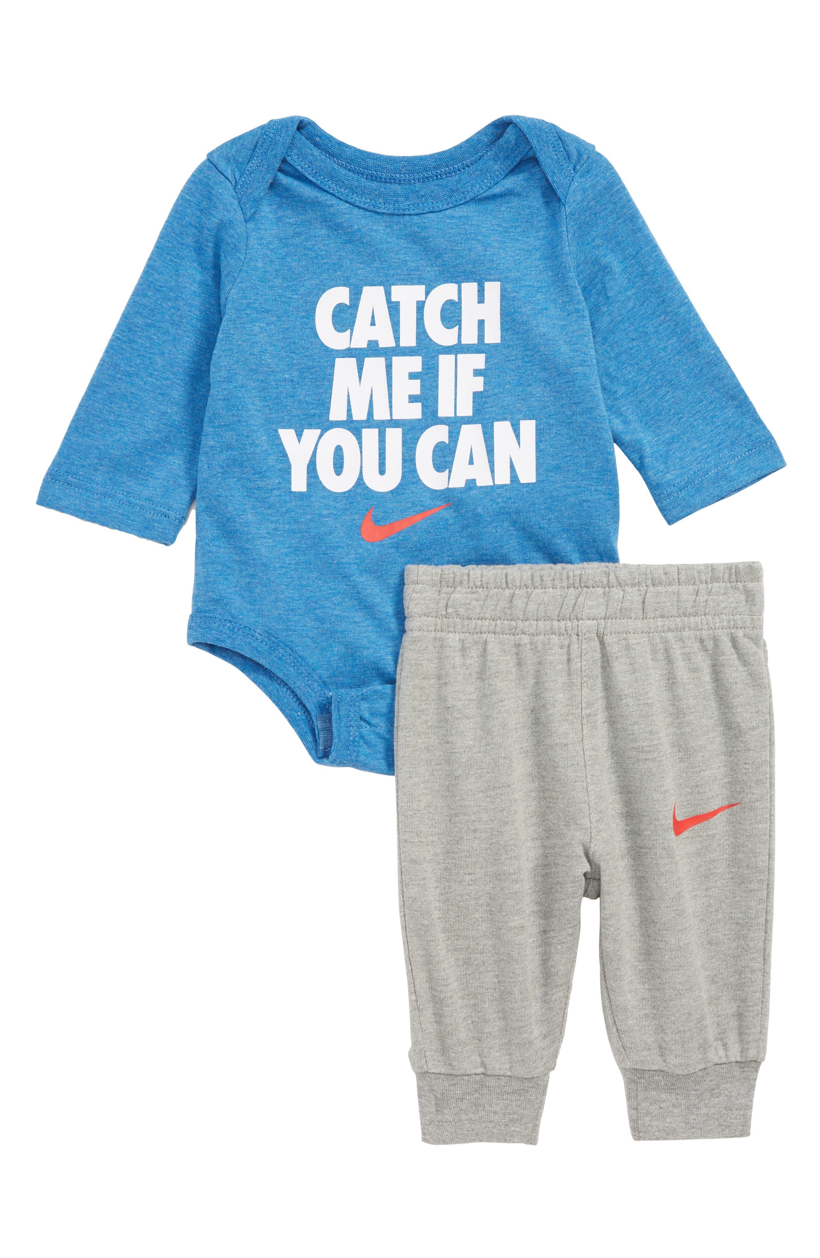 Catch Me If You Can Bodysuit & Pants Set,                             Main thumbnail 1, color,                             088