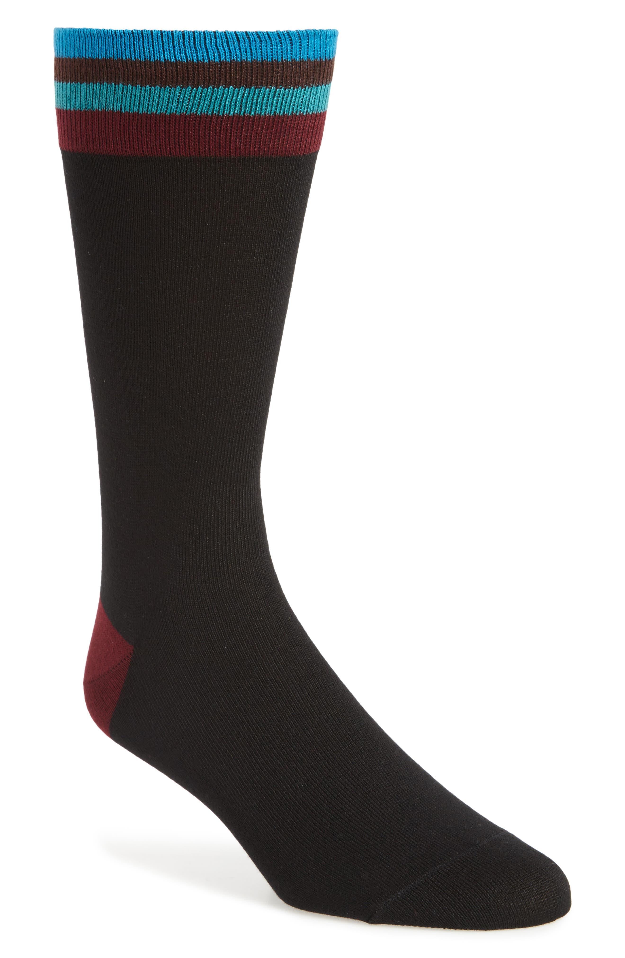 Artist Stripe Socks,                         Main,                         color, 009