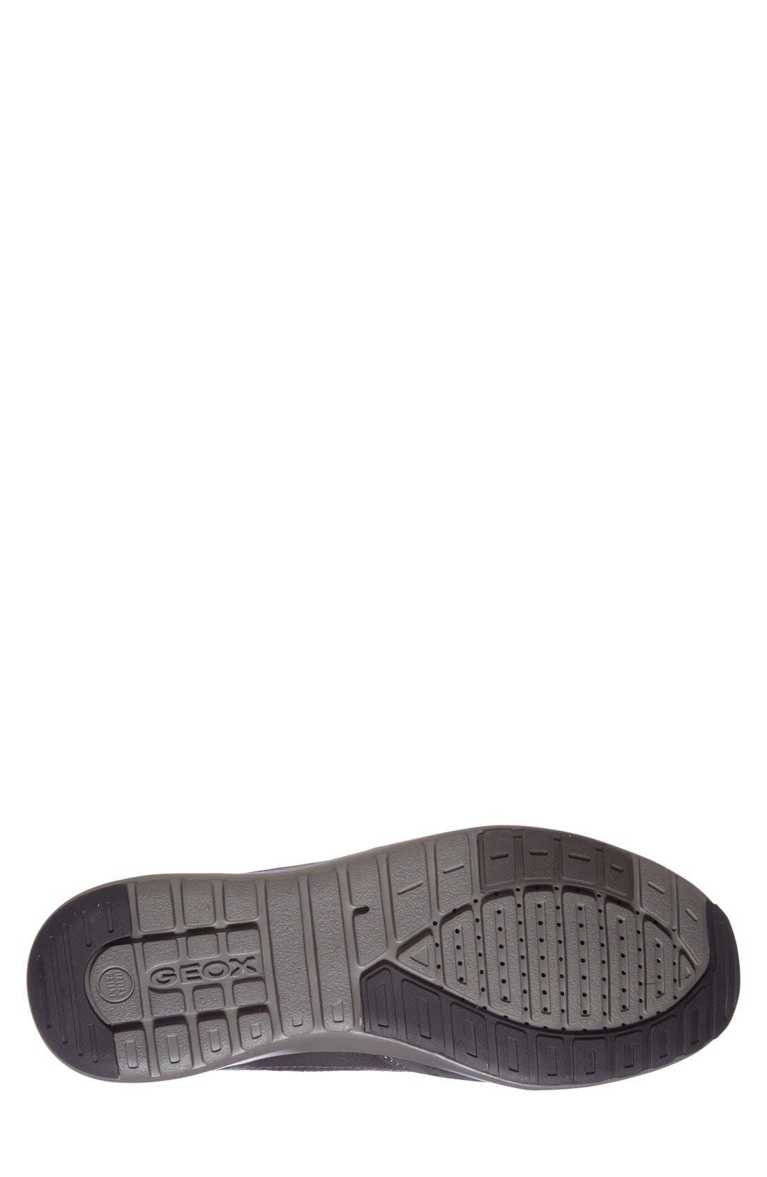 'Jepson' Sneaker,                             Alternate thumbnail 4, color,                             001