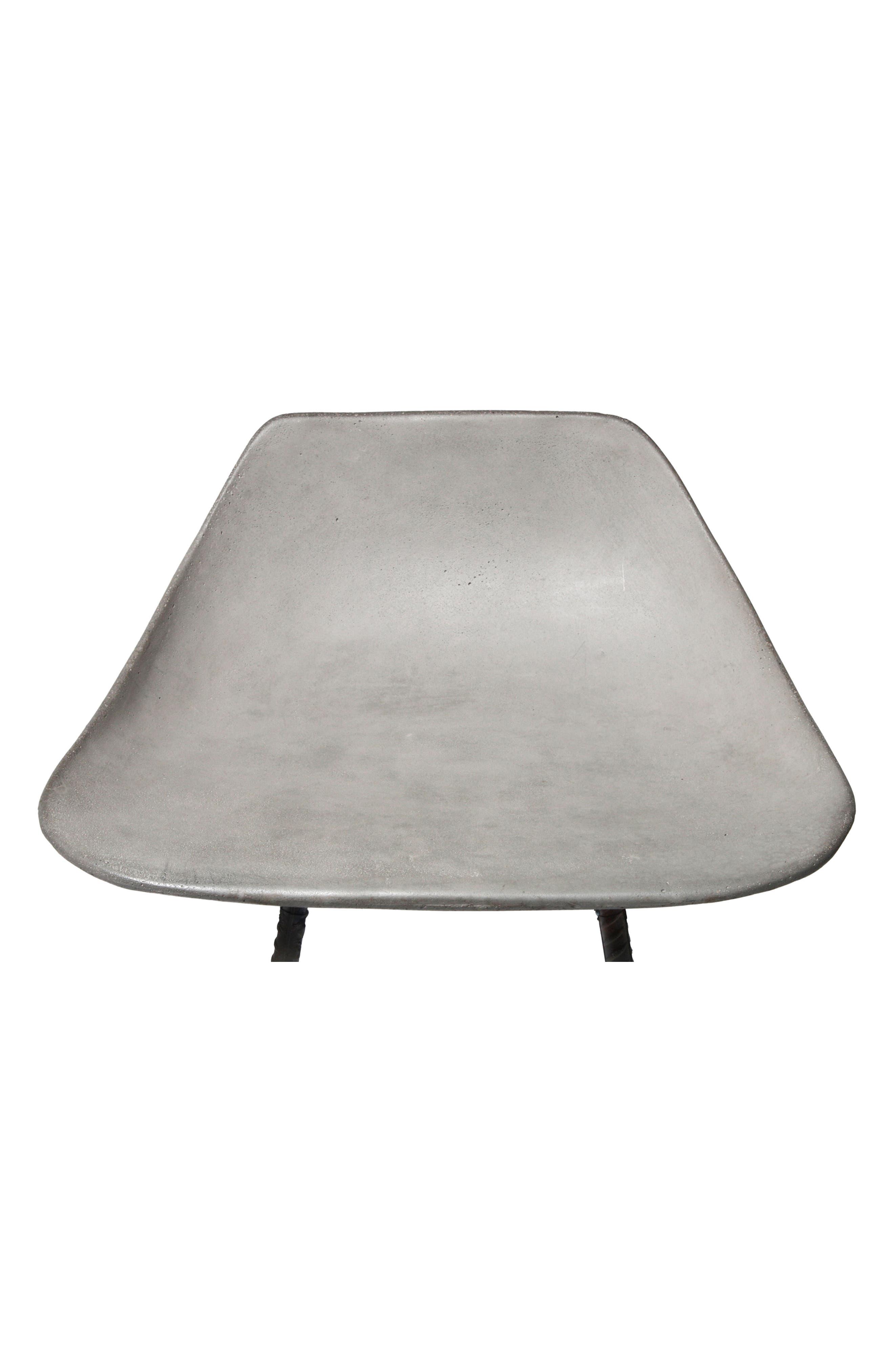 Lyon Béton Hauteville Bar Chair,                             Alternate thumbnail 3, color,                             CEMENT