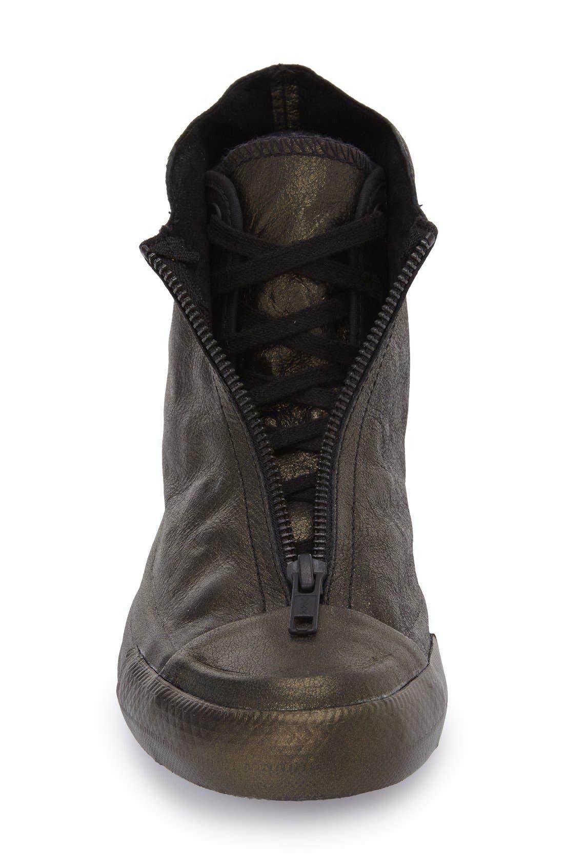 CONVERSE,                             Chuck Taylor<sup>®</sup> All Star<sup>®</sup> 'Shroud' Metallic High Top Sneaker,                             Alternate thumbnail 3, color,                             017
