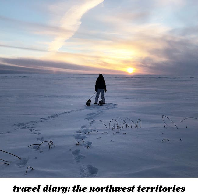 A travel diary from the Northwest Territories.