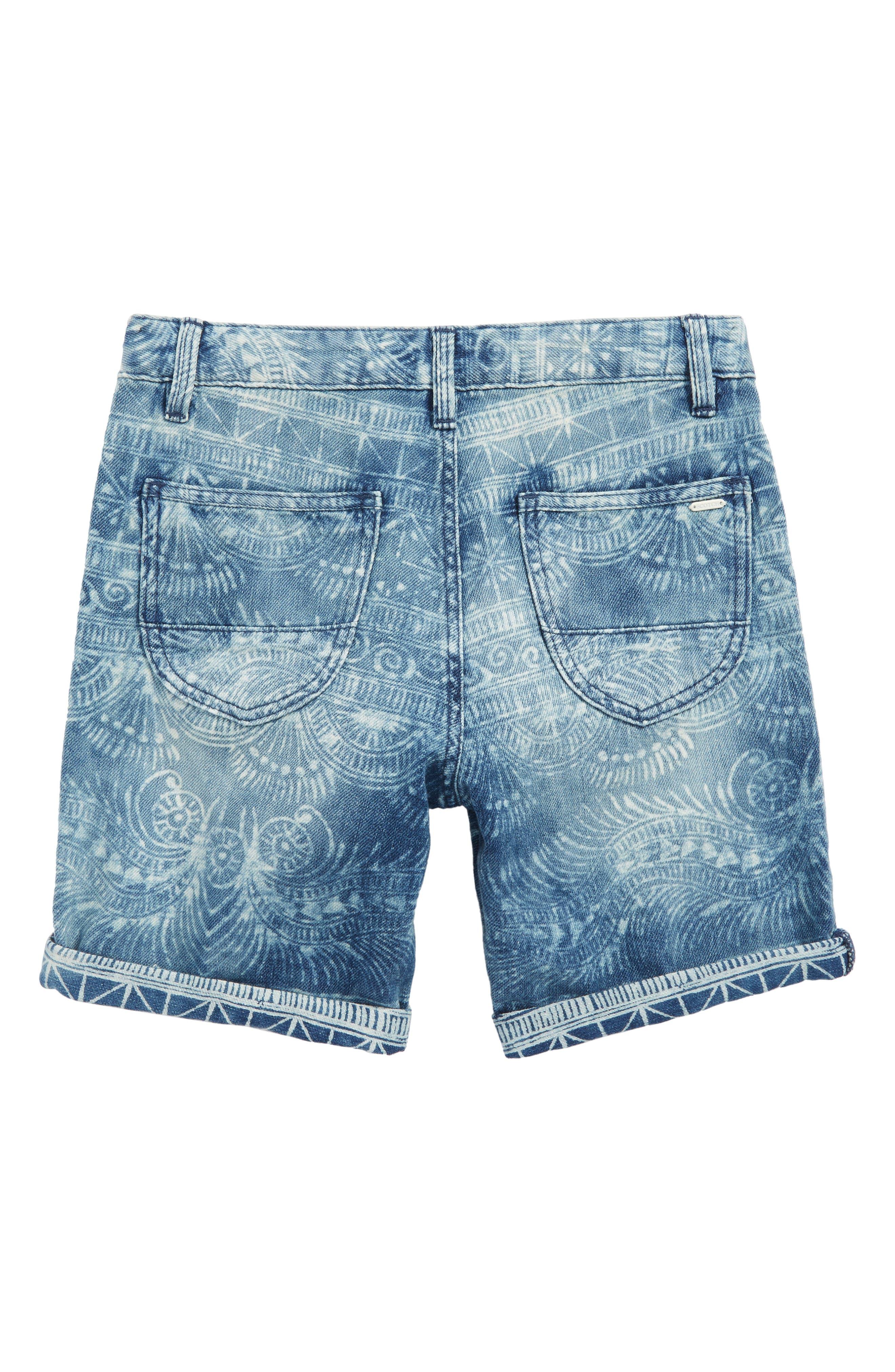 Denim Chino Shorts,                             Alternate thumbnail 2, color,                             400