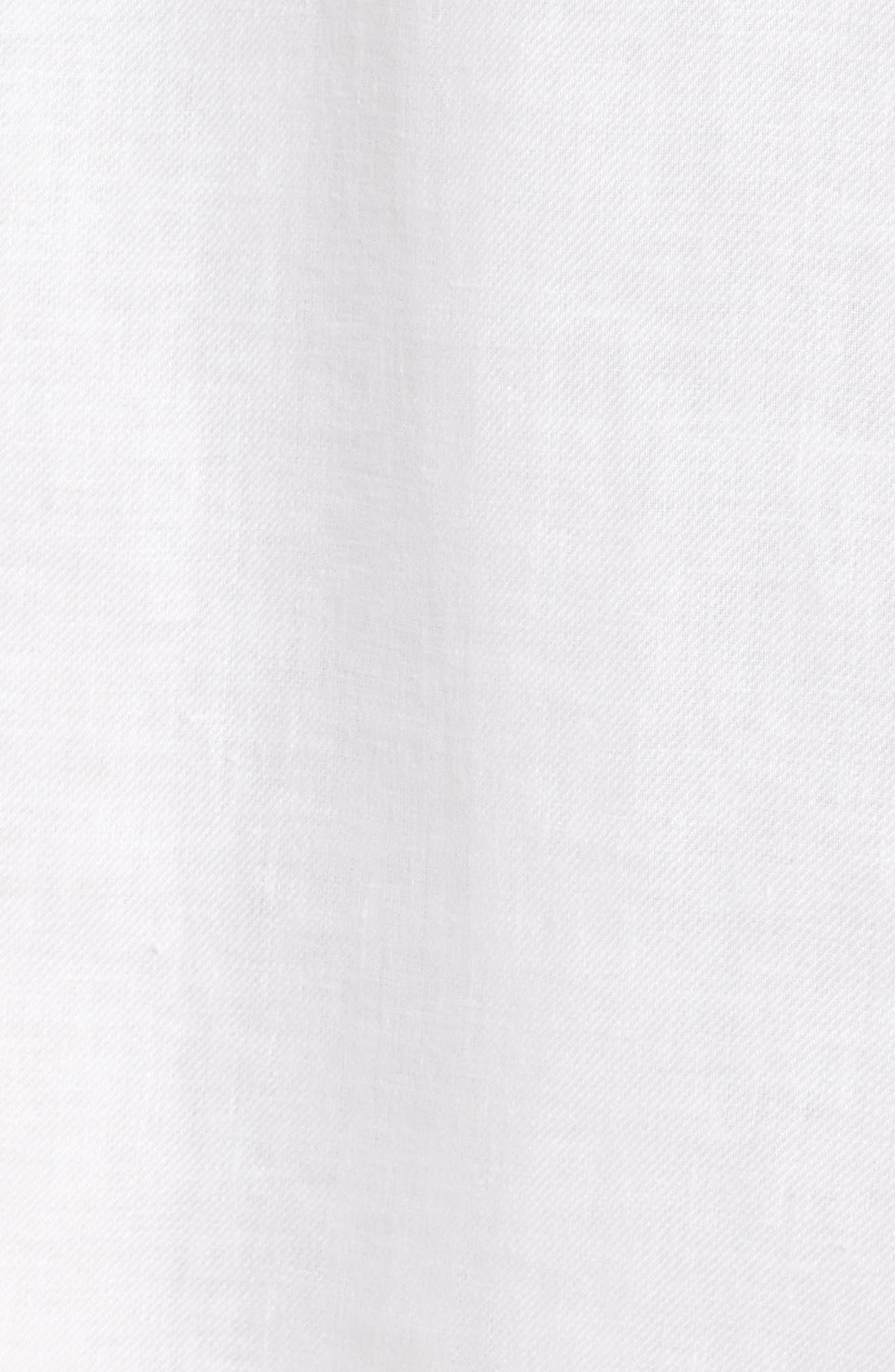 Dimisa Linen Belted A-Line Dress,                             Alternate thumbnail 5, color,