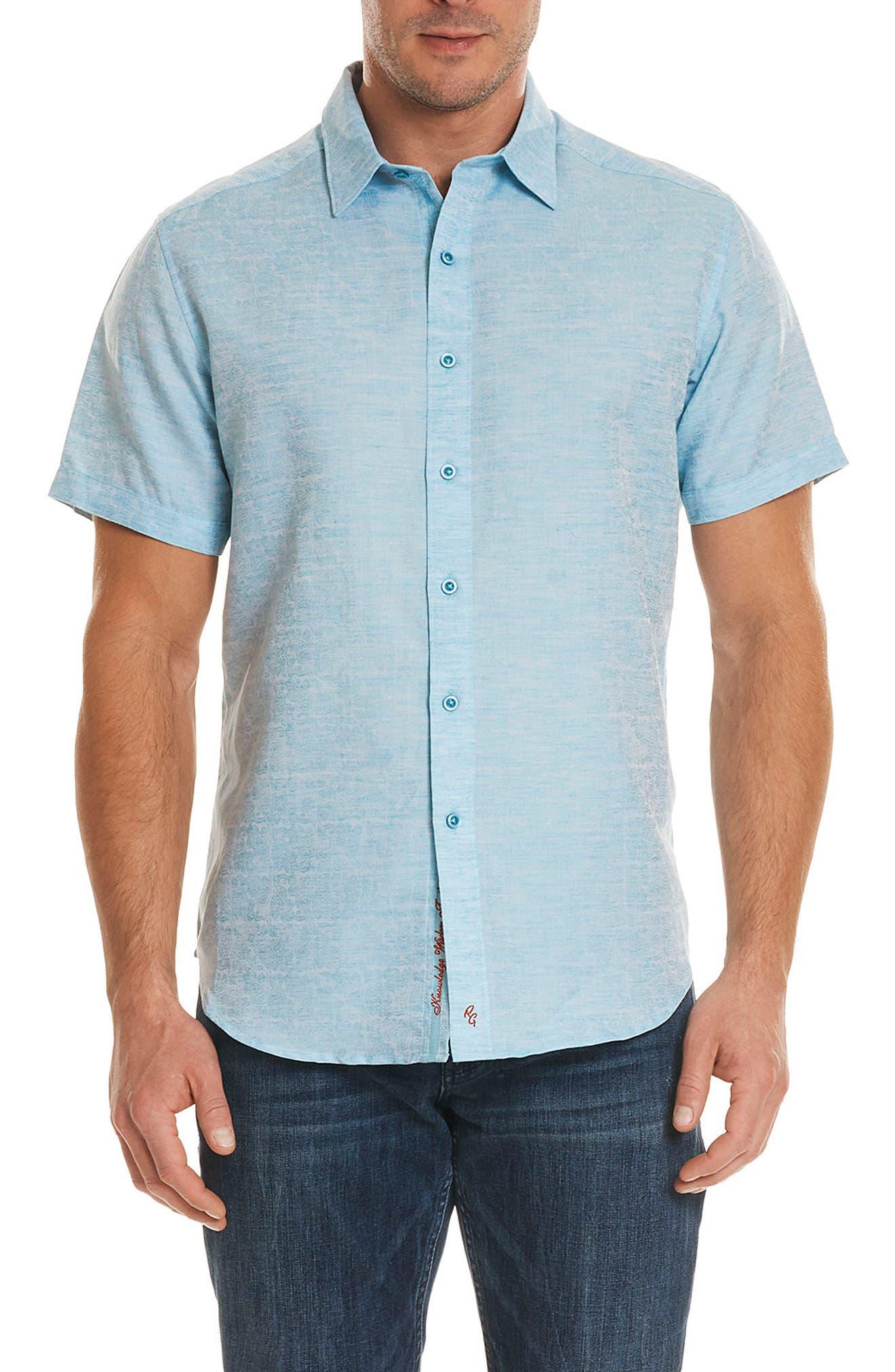 Cyprus Classic Fit Linen & Cotton Sport Shirt,                             Main thumbnail 2, color,