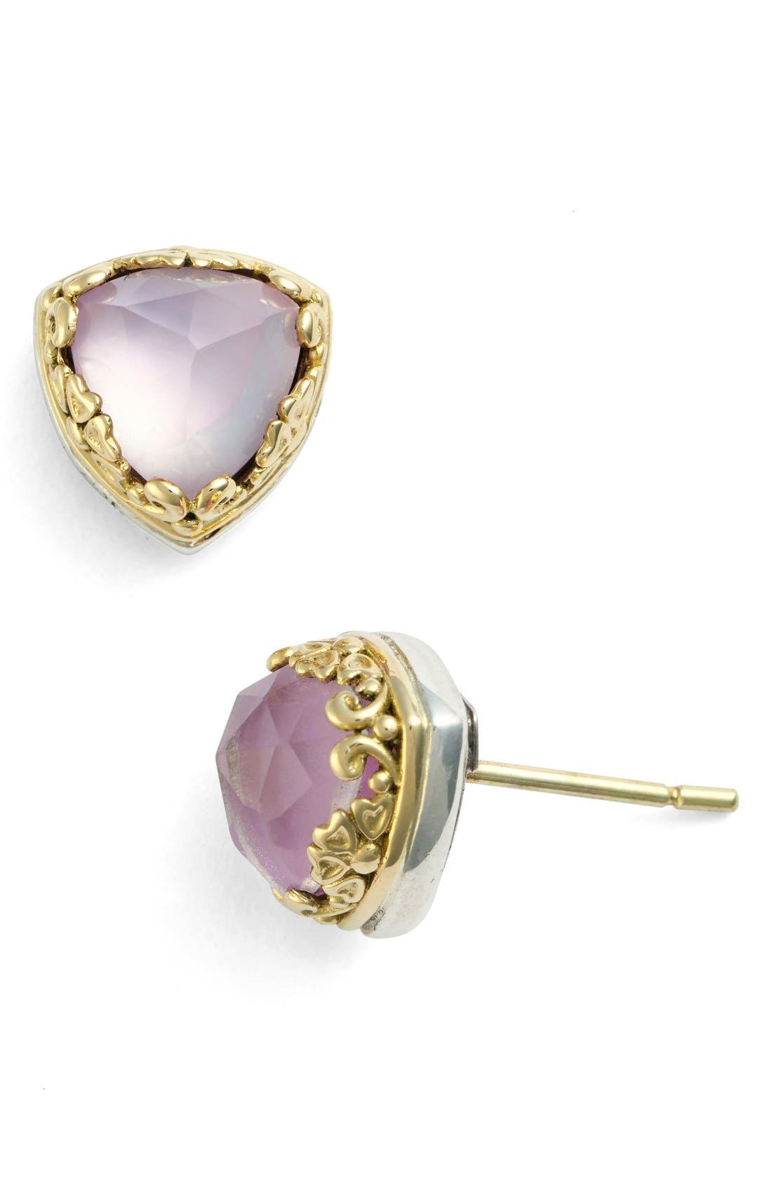 'Iliada' Doublet Stud Earrings,                             Main thumbnail 1, color,                             040