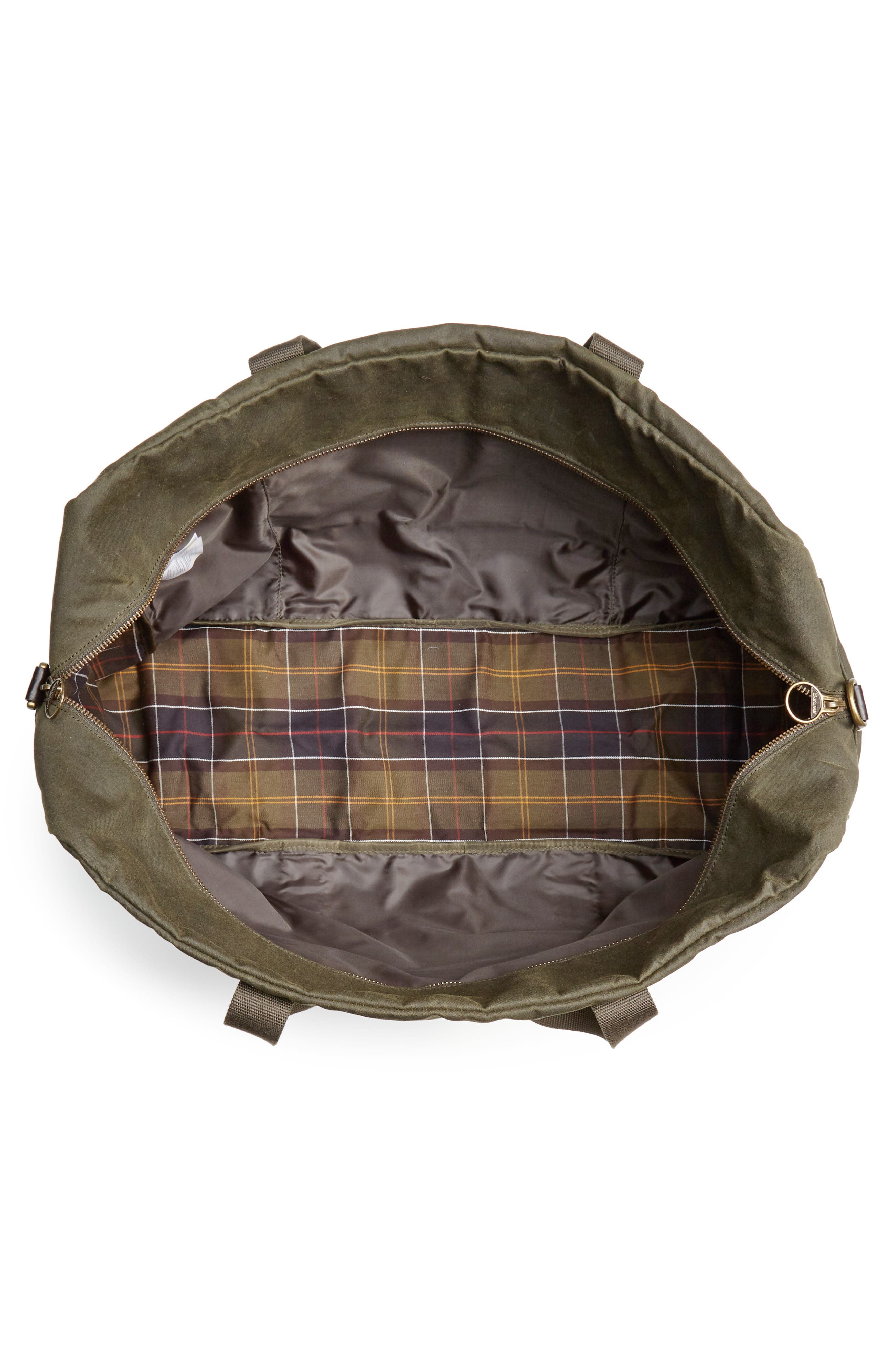 Oakwell Duffel Bag,                             Alternate thumbnail 4, color,                             ARCHIVE OLIVE