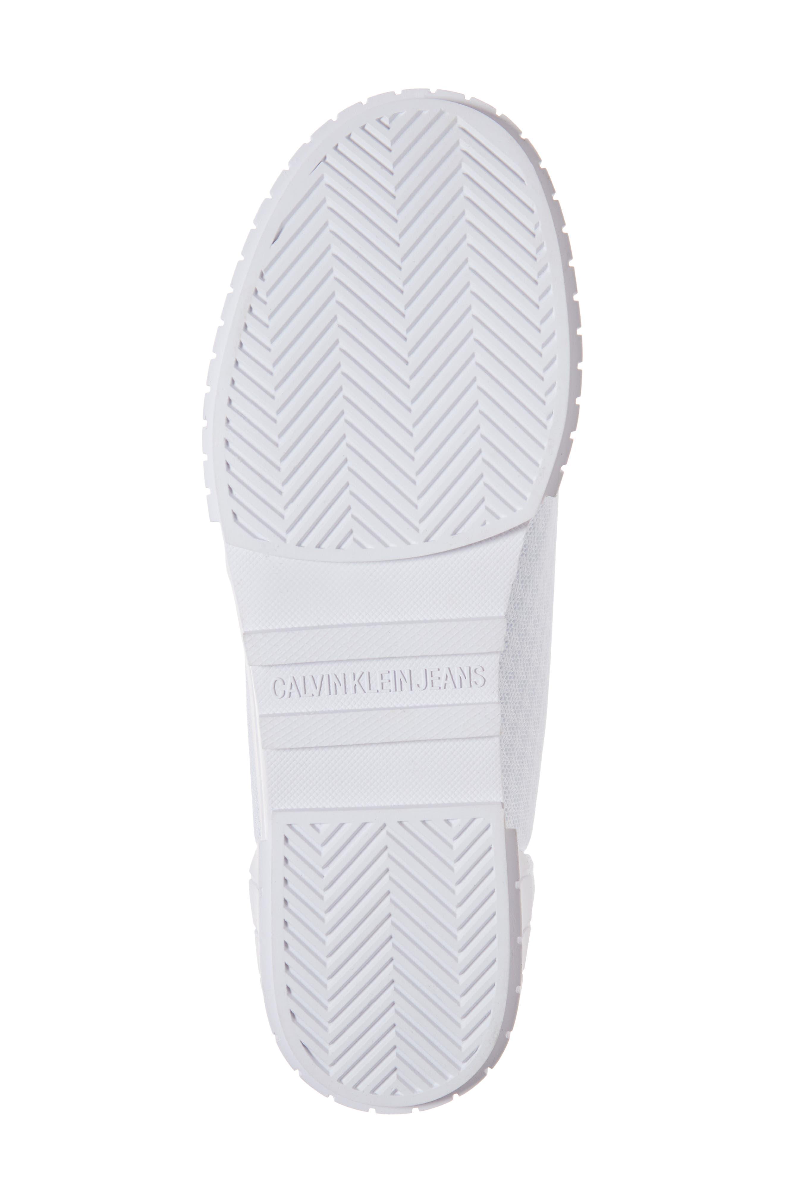 Bamina Slip-On Sneaker,                             Alternate thumbnail 6, color,                             WHITE