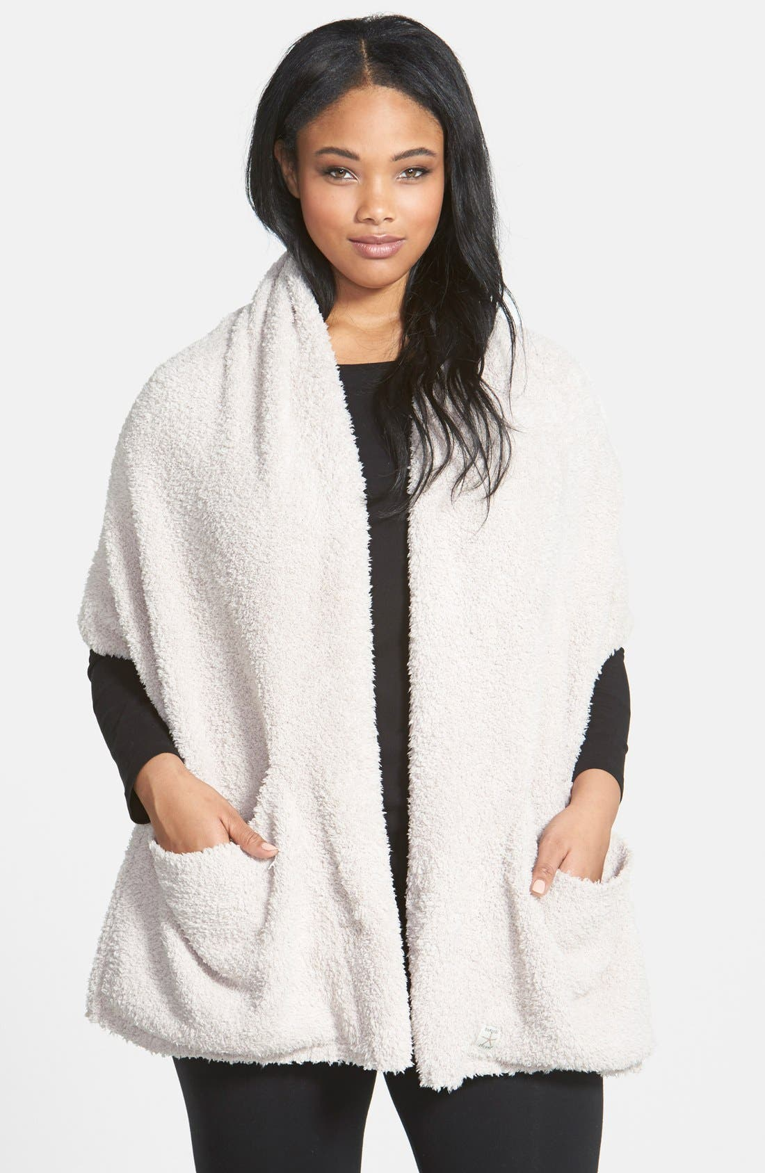 Barefoot Dreams Cozychic Travel Shawl, Size One Size - Beige (Online Only)