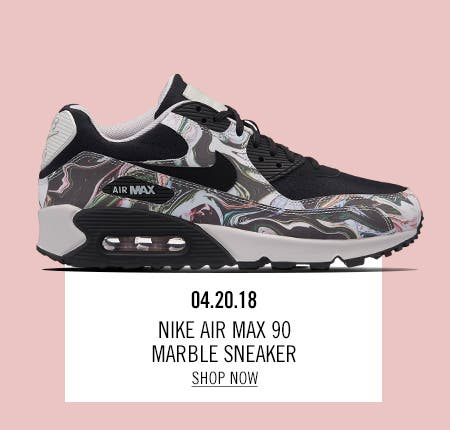 Nordstrom x Nike: new and hot Nike Air Max 90 Marble Sneaker.