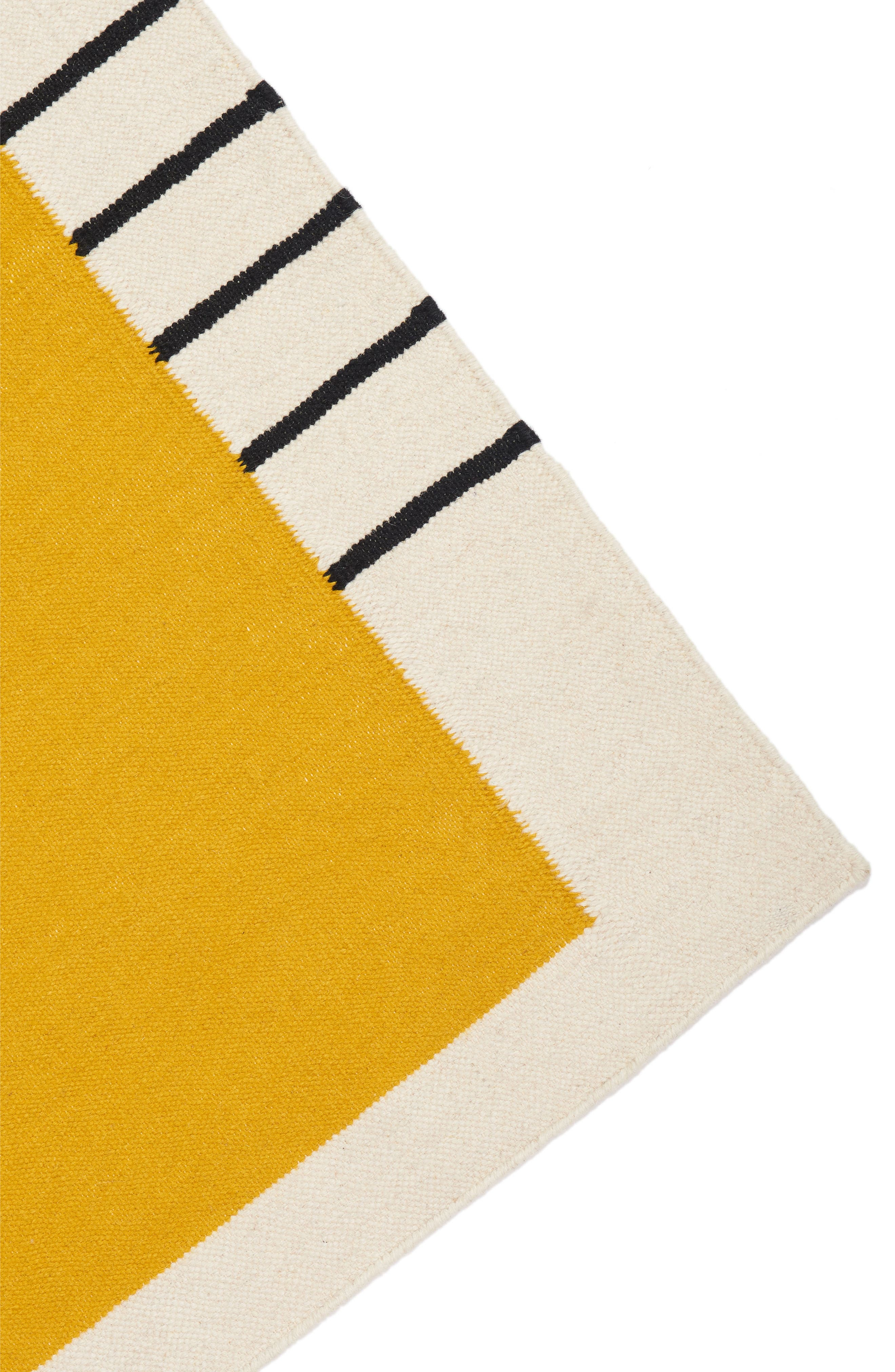 Suzanne Flat Weave Rug,                             Alternate thumbnail 2, color,                             YELLOW