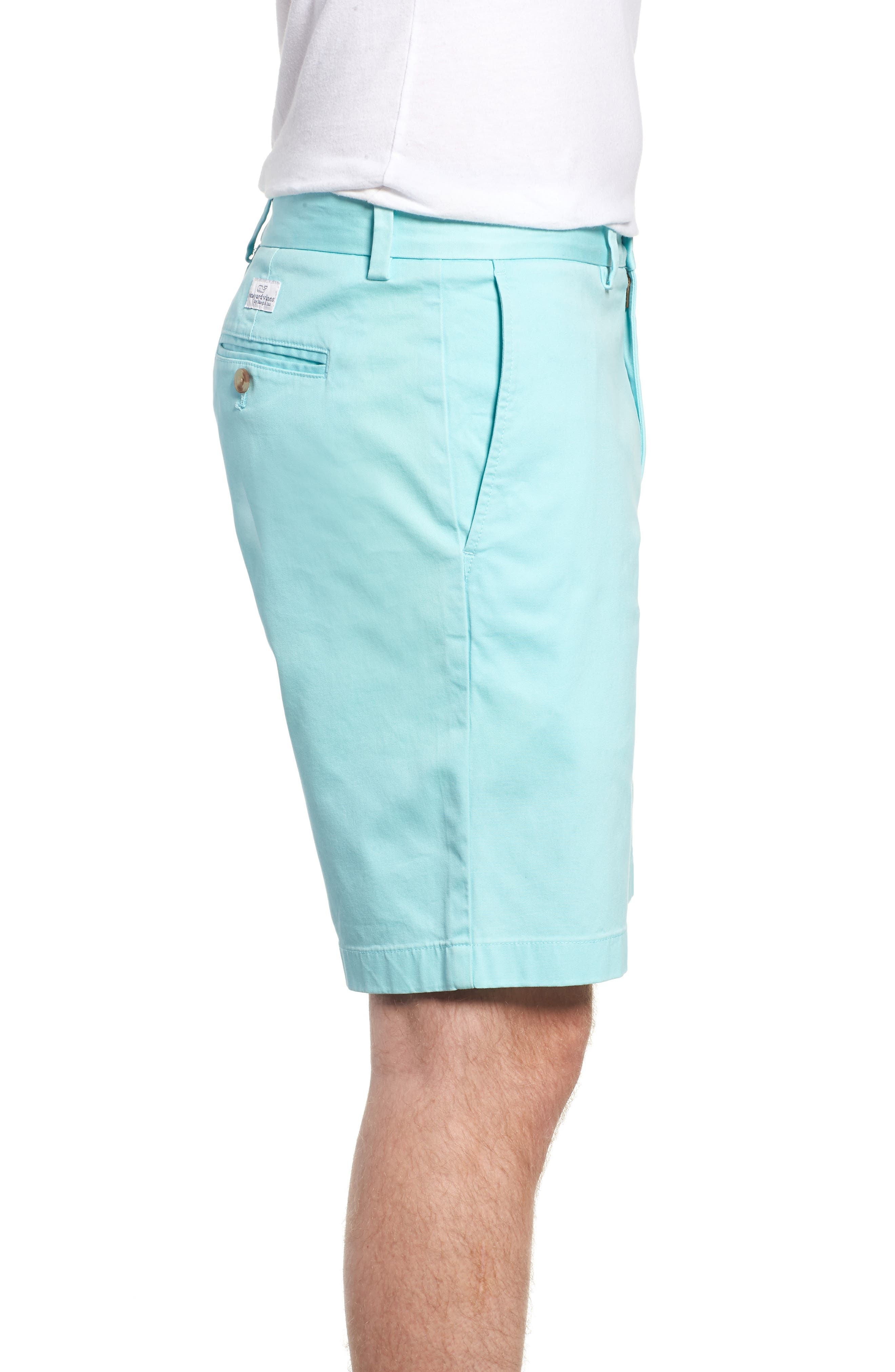 9 Inch Stretch Breaker Shorts,                             Alternate thumbnail 3, color,                             437