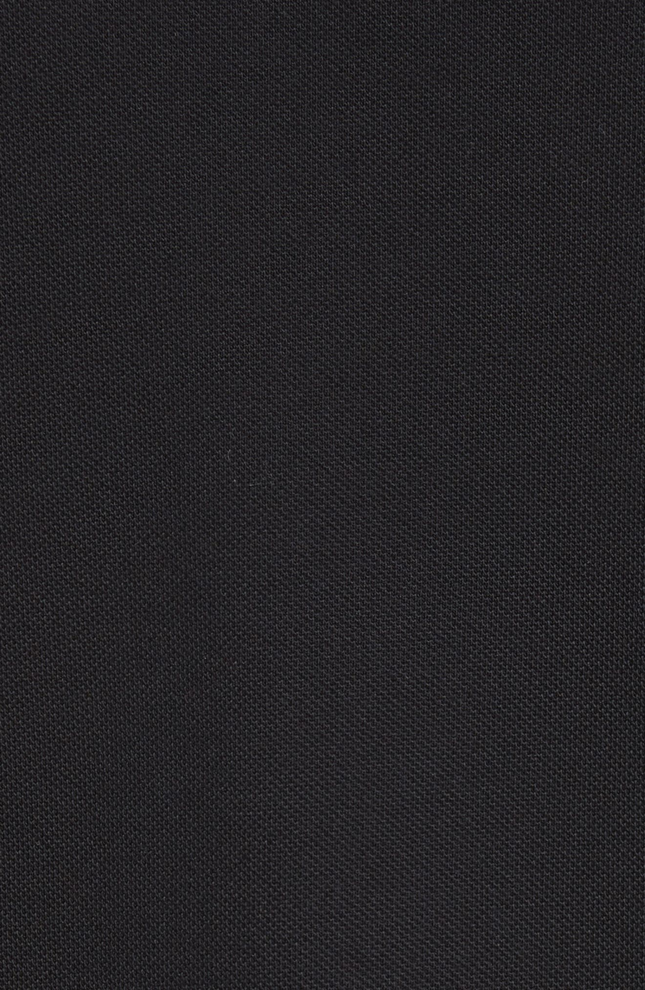 Striped Collar Polo Shirt,                             Alternate thumbnail 5, color,                             001