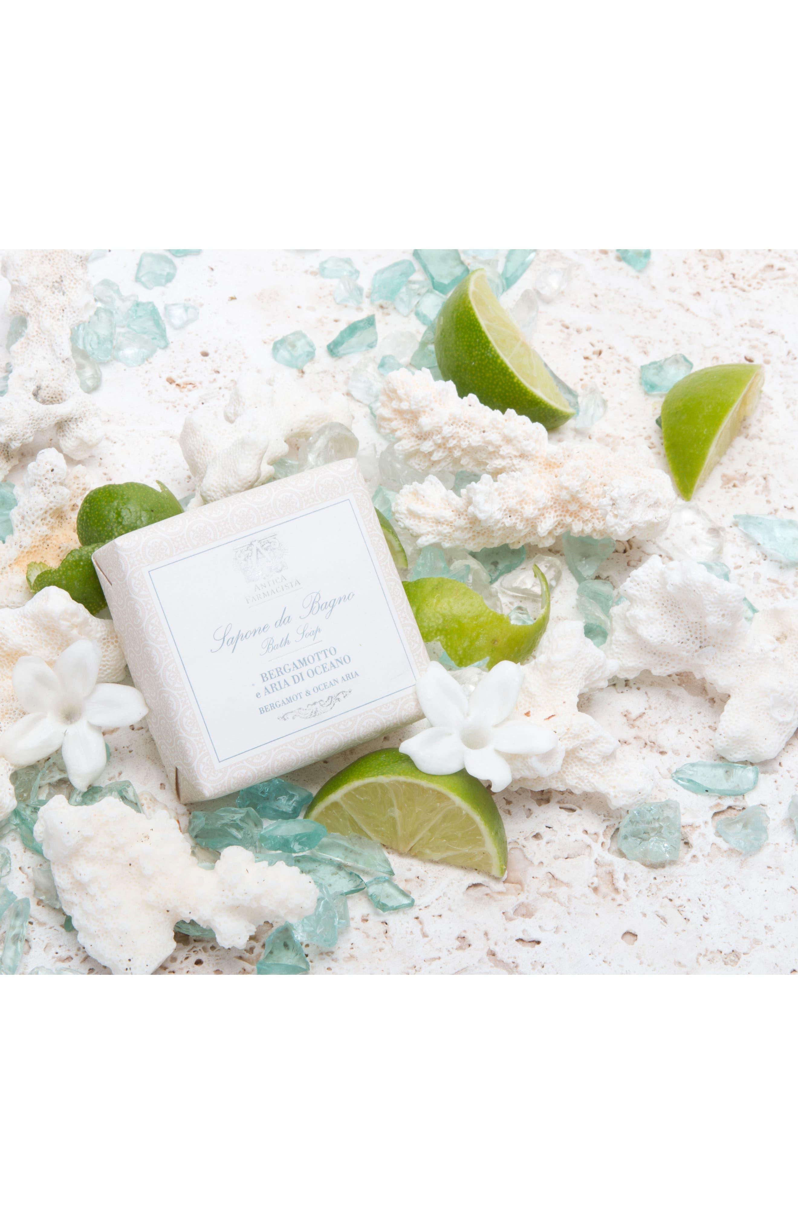 'Bergamot & Ocean Aria' Bar Soap,                             Alternate thumbnail 3, color,                             000