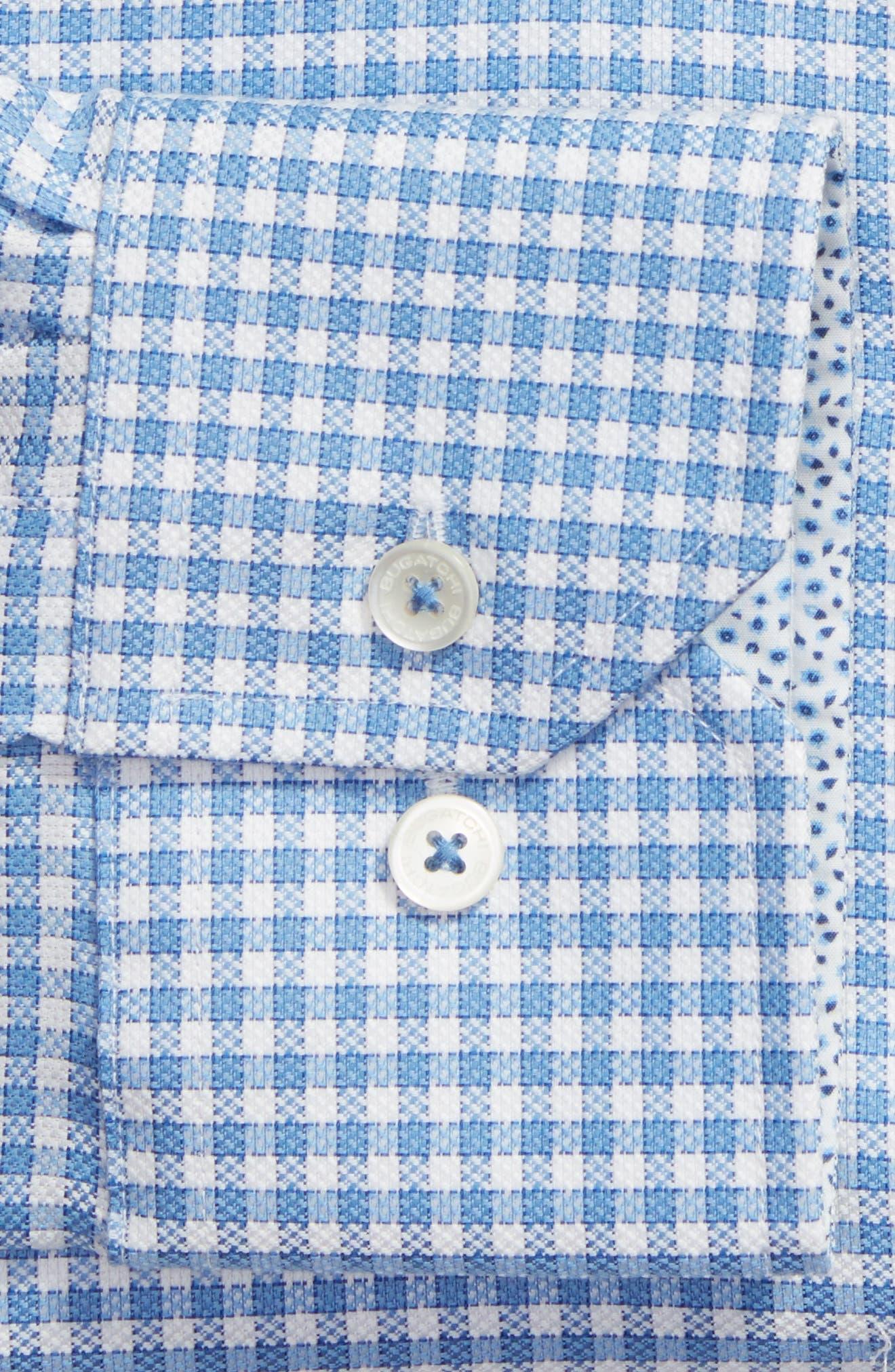 Trim Fit Check Dress Shirt,                             Alternate thumbnail 2, color,                             459