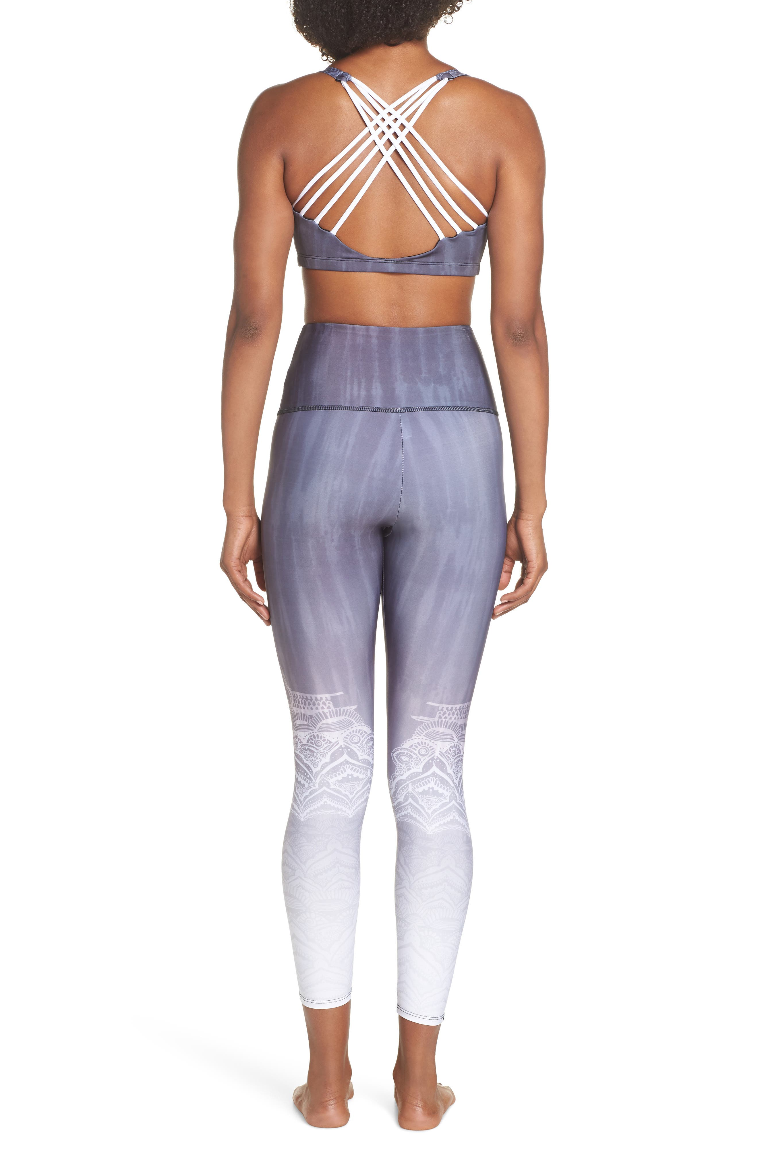 High Waist Leggings,                             Alternate thumbnail 9, color,                             SACRED