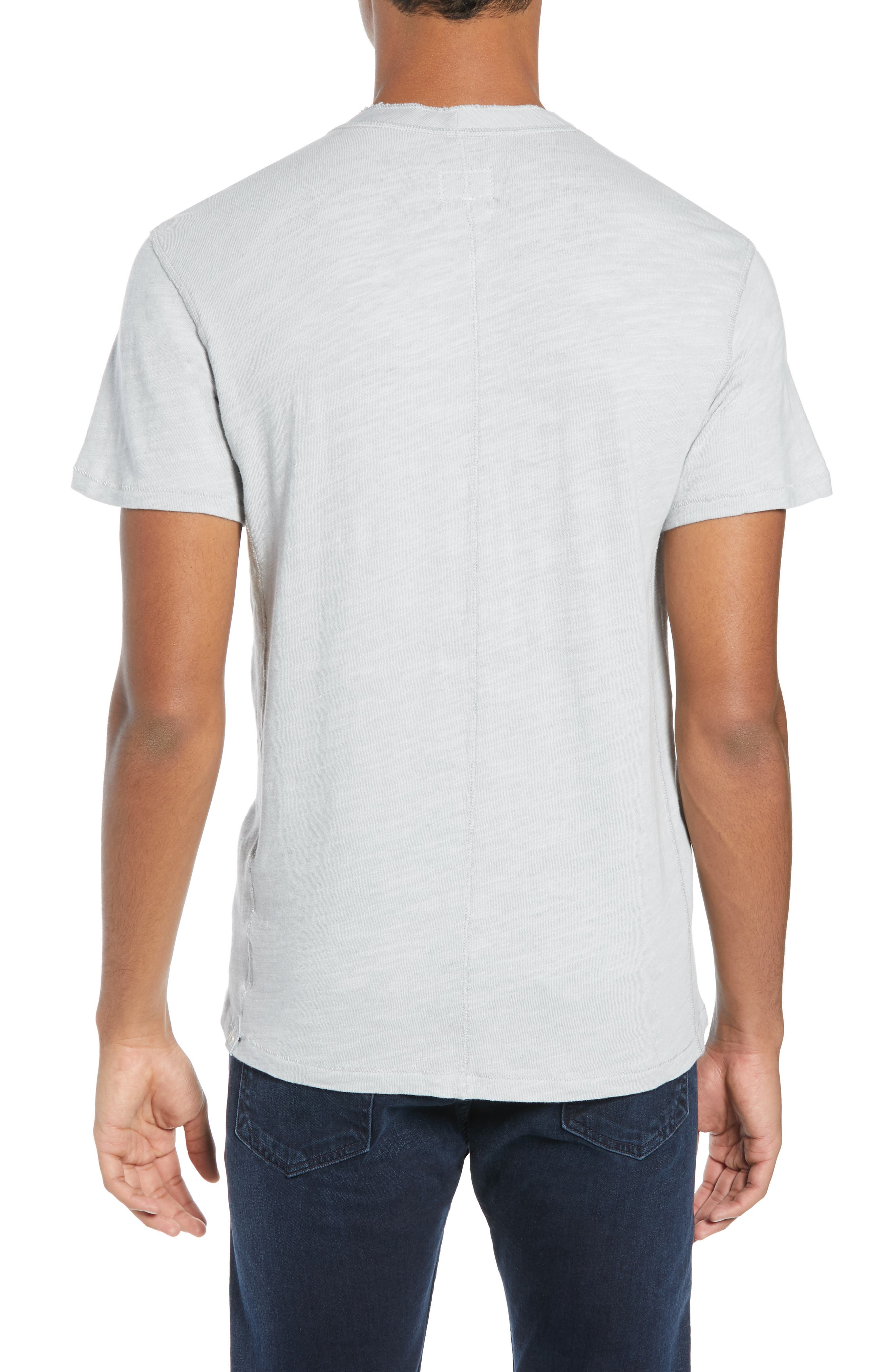 Standard Issue Henley,                             Alternate thumbnail 2, color,                             BLUE GREY