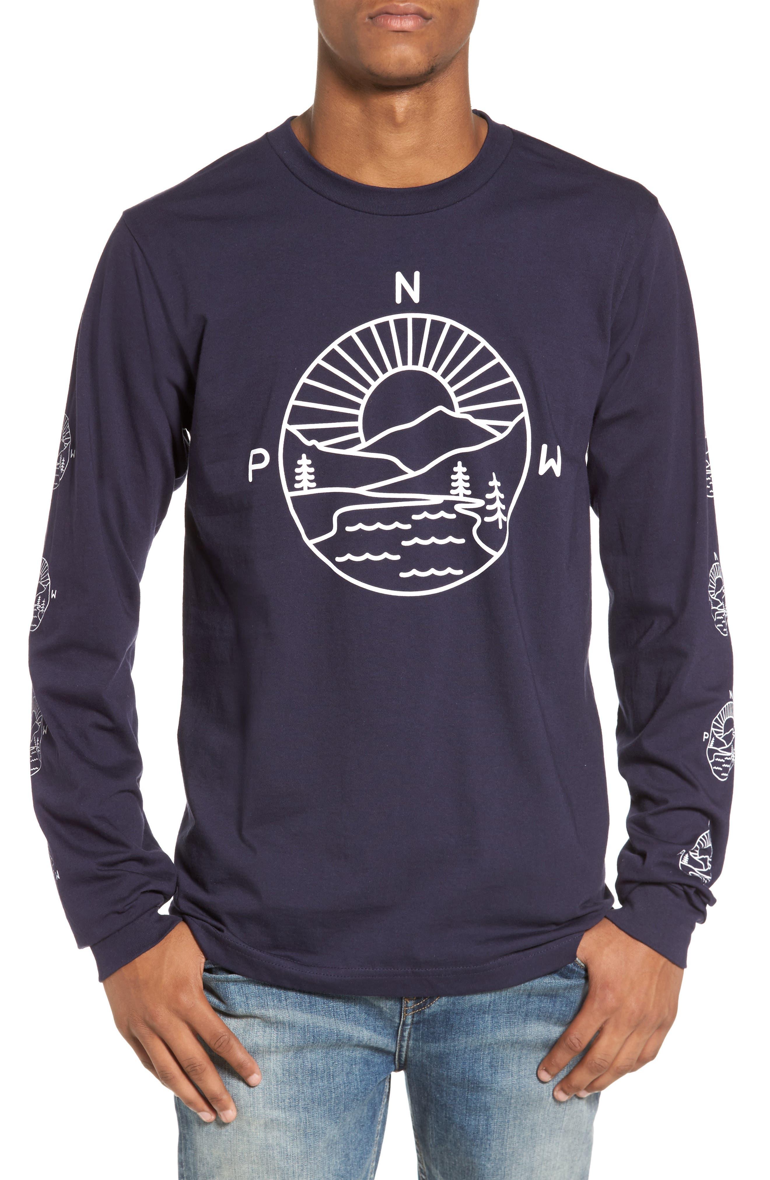 PNW Explorer T-Shirt,                             Main thumbnail 1, color,