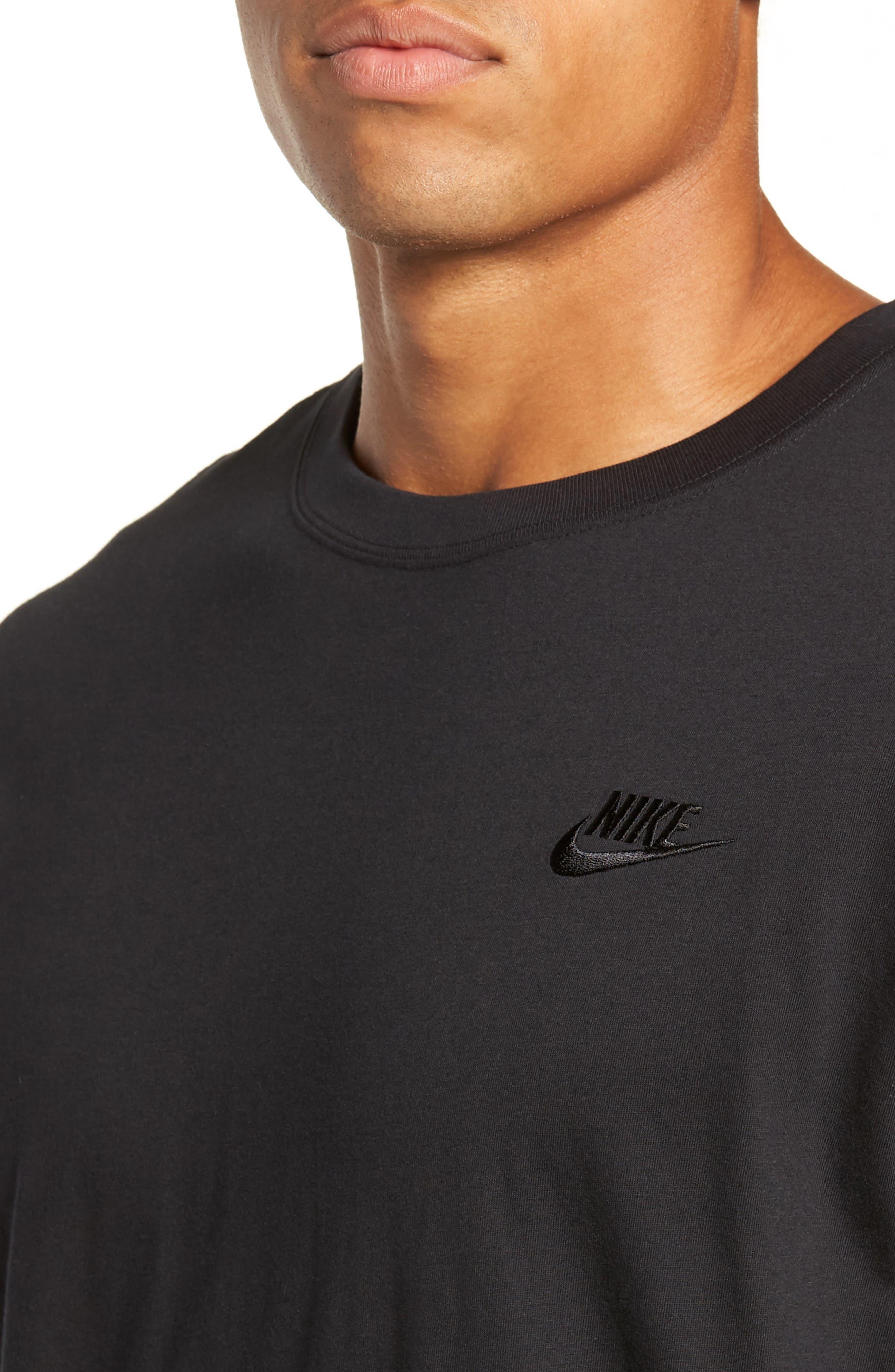 NSW Futura T-Shirt,                             Alternate thumbnail 4, color,                             BLACK/ BLACK