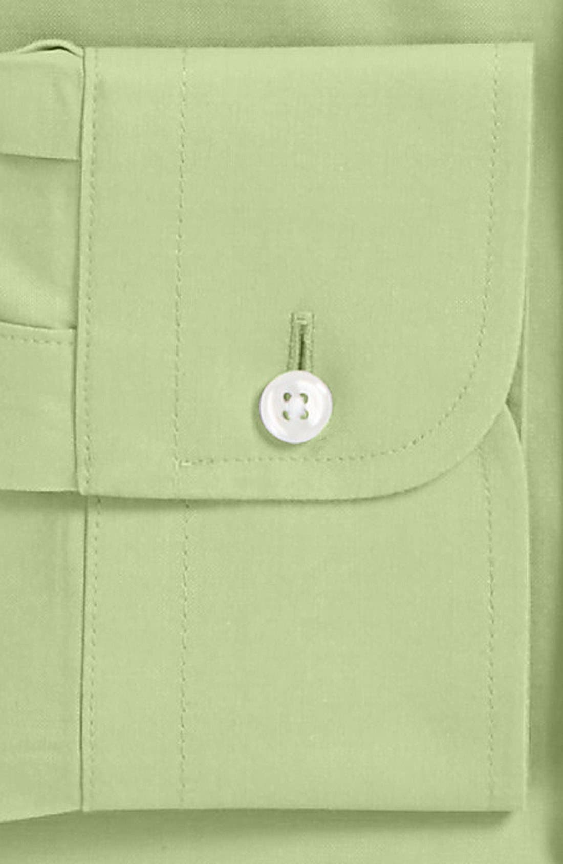 Smartcare<sup>™</sup> Traditional Fit Pinpoint Dress Shirt,                             Alternate thumbnail 52, color,