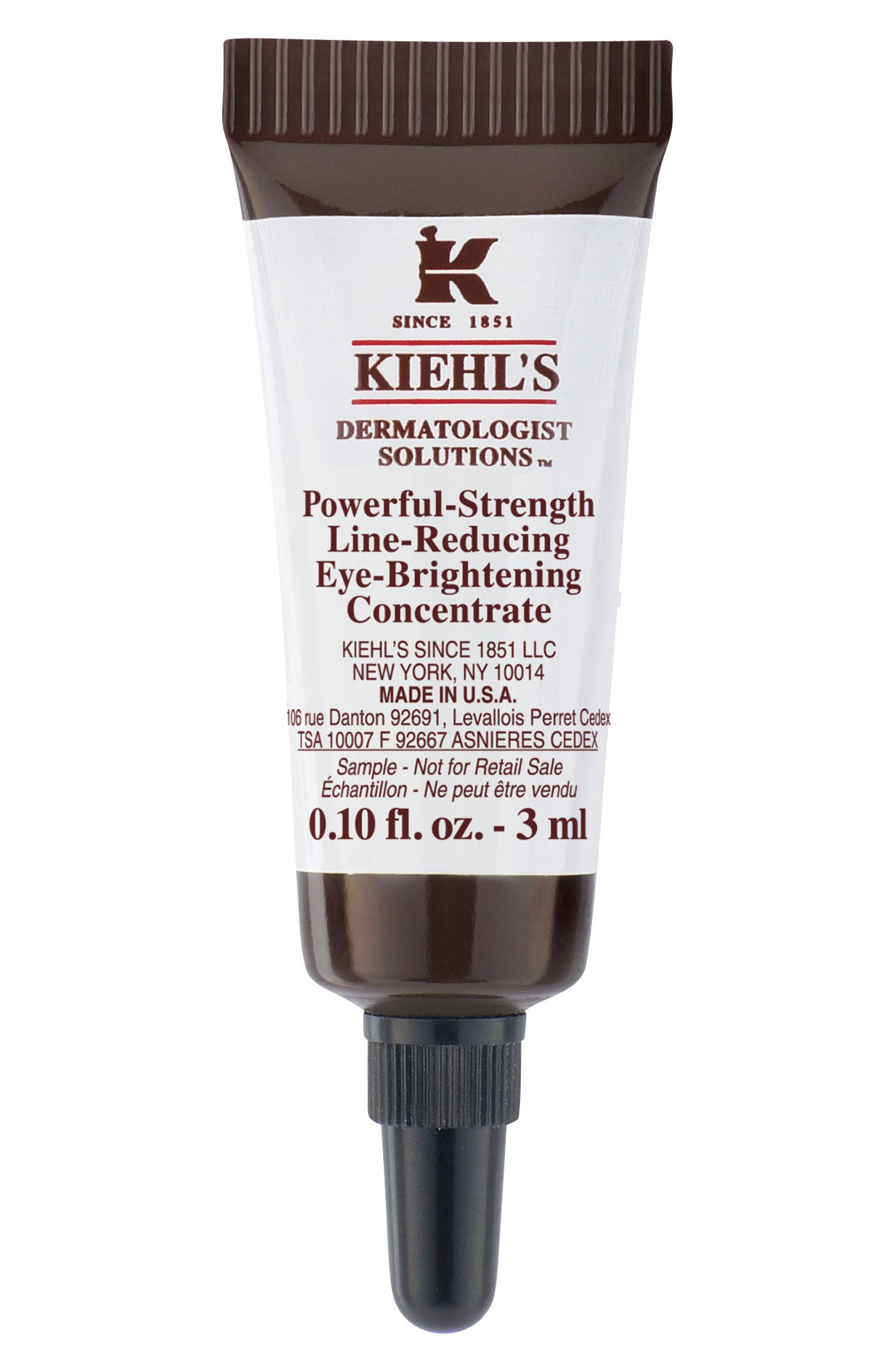 Kiehl's Since 1851 'Dermatologist Solutions<sup>™</sup>' Powerful-Strength Line-Reducing Eye-Brightening Concentrate,                             Alternate thumbnail 3, color,                             NO COLOR