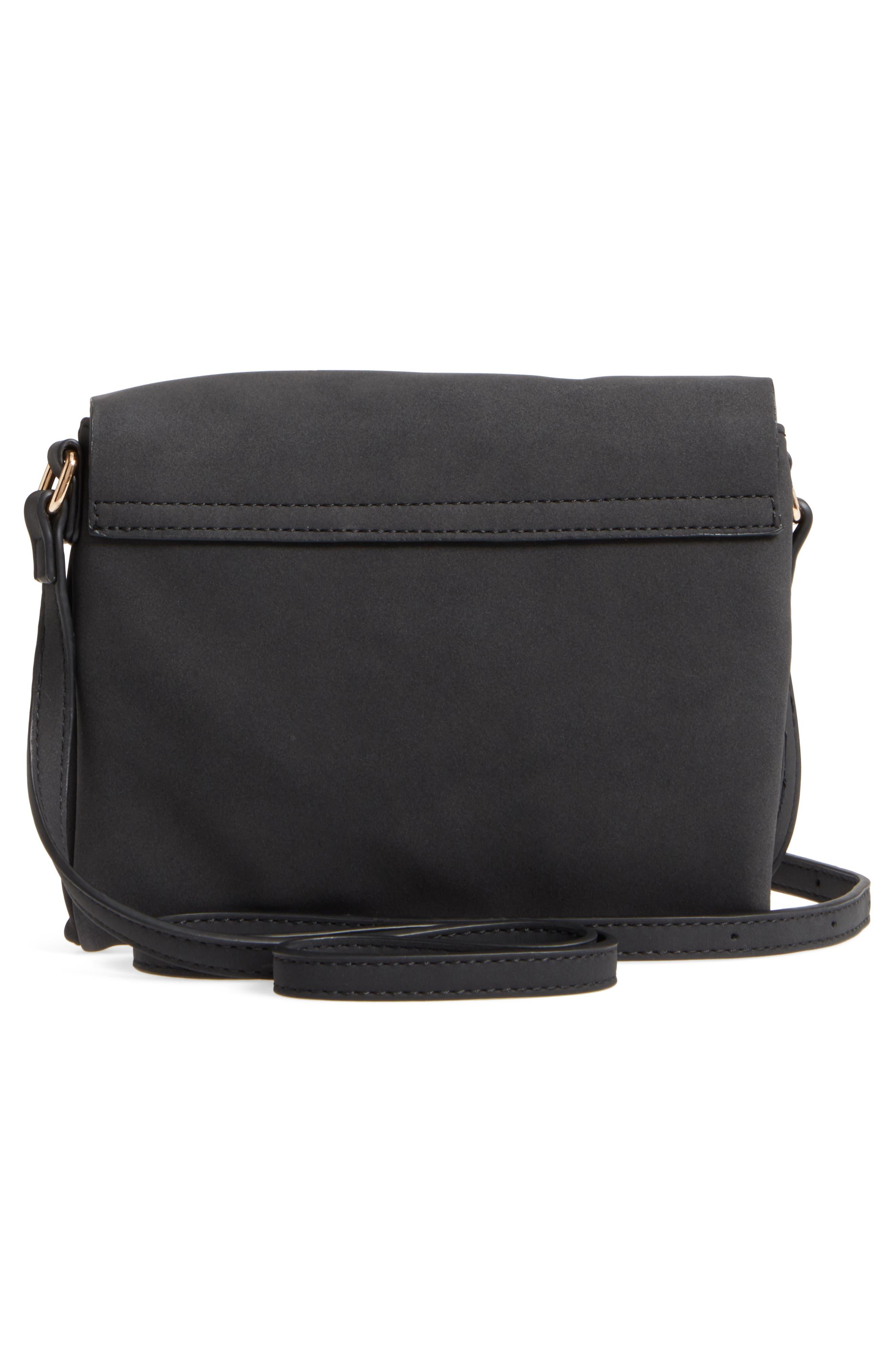 Envelope Crossbody Bag,                             Alternate thumbnail 3, color,                             001