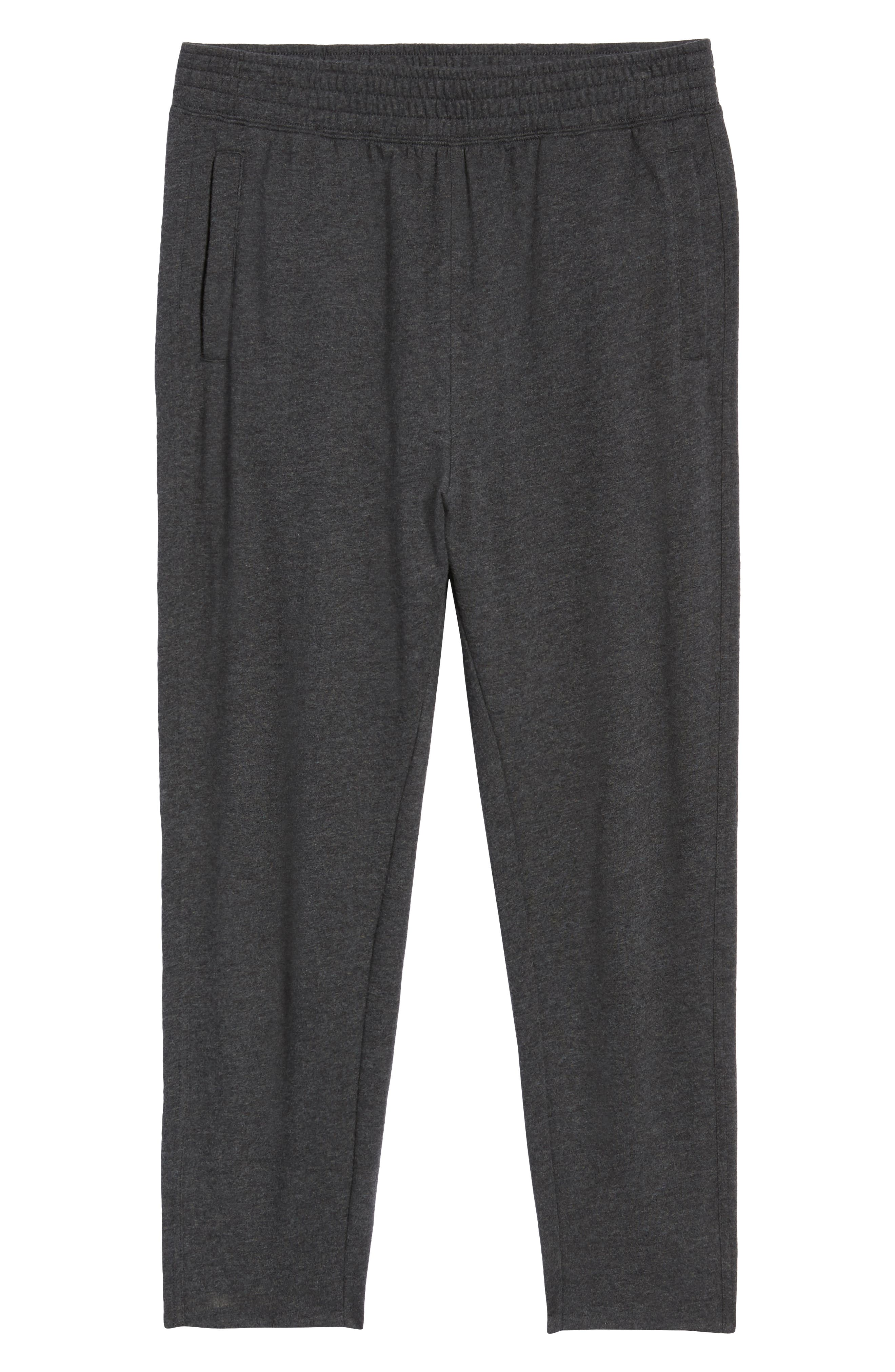 Jogger Pants,                             Alternate thumbnail 7, color,                             GREY DARK CHARCOAL HEATHER