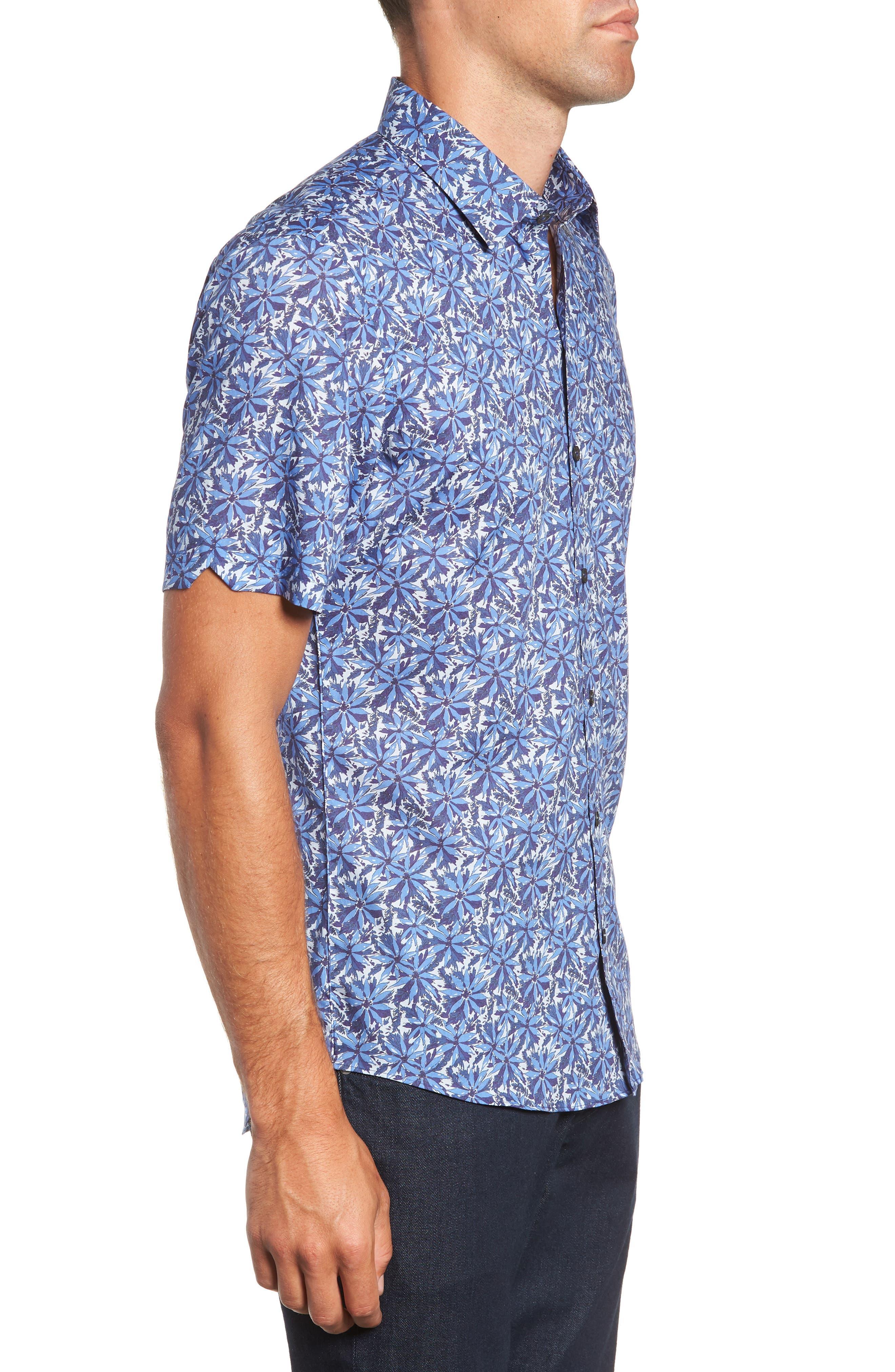 ZACHARY PRELL,                             Ose Regular Fit Sport Shirt,                             Alternate thumbnail 4, color,                             400