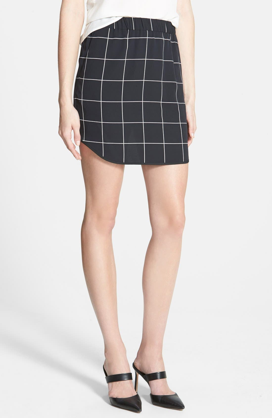 Pull-On Skirt,                             Main thumbnail 1, color,                             001