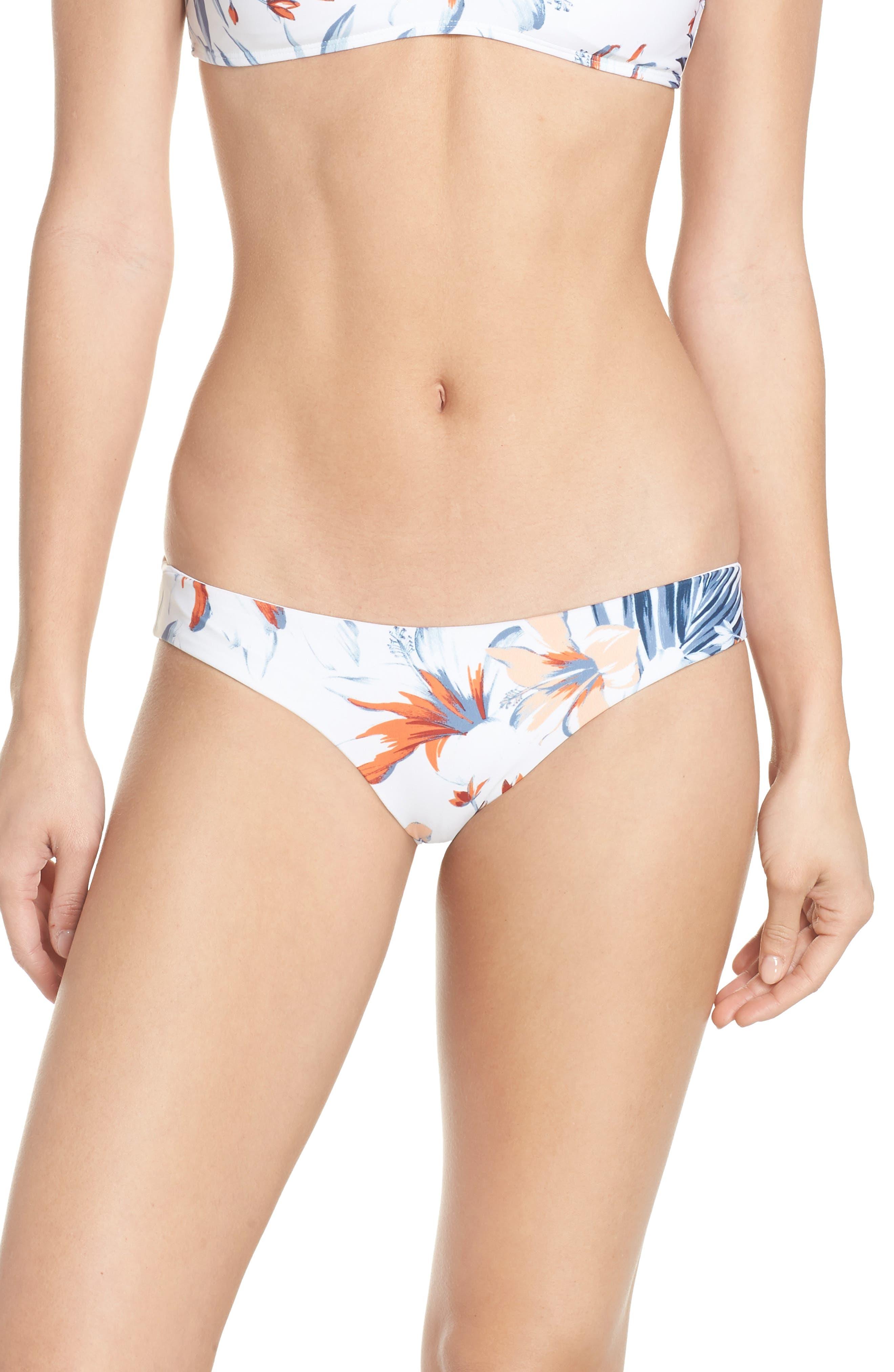 Sandy Classic Bikini Bottoms,                             Main thumbnail 1, color,                             BIRD OF PARADISE