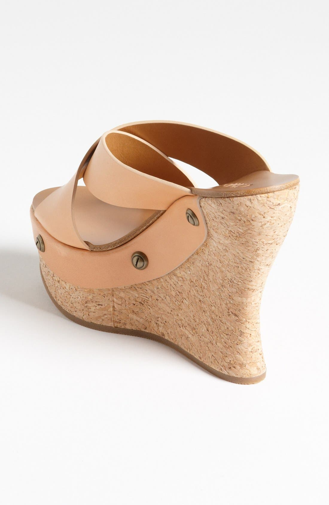 Cork Platform Wedge Sandal,                             Alternate thumbnail 4, color,                             250