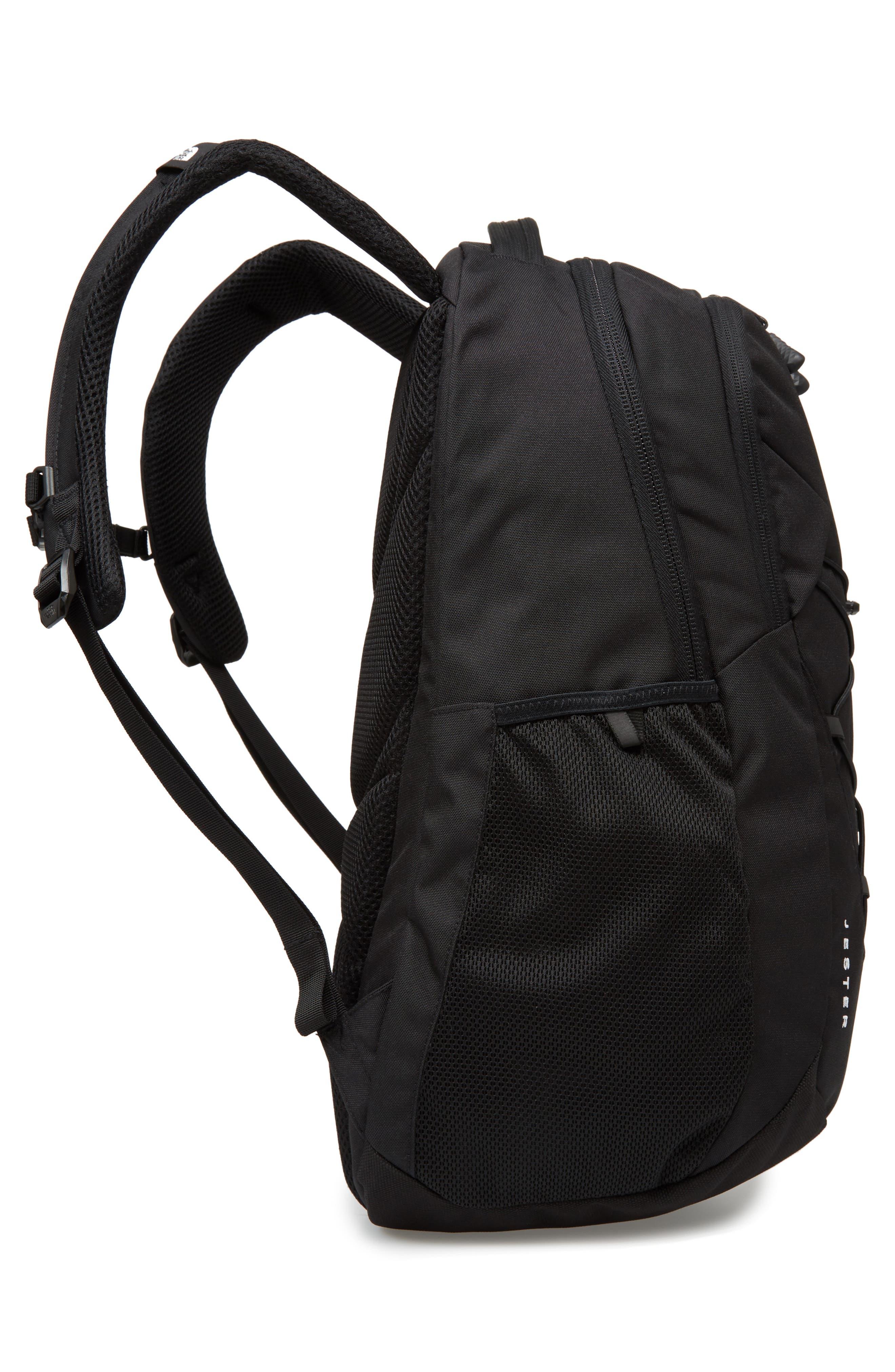 'Jester' Backpack,                             Alternate thumbnail 5, color,                             TNF BLACK