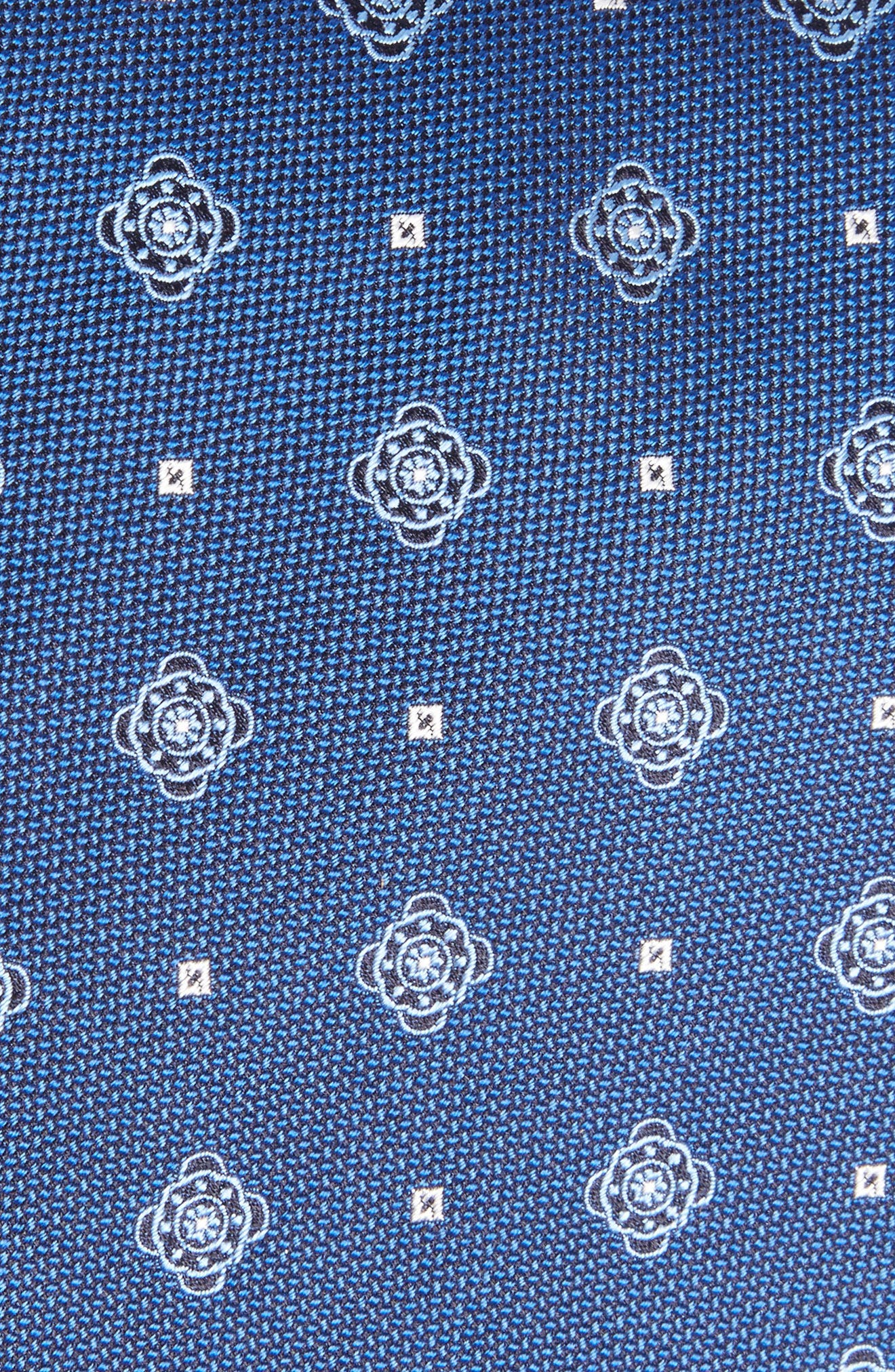 Medallion Silk Tie,                             Alternate thumbnail 3, color,