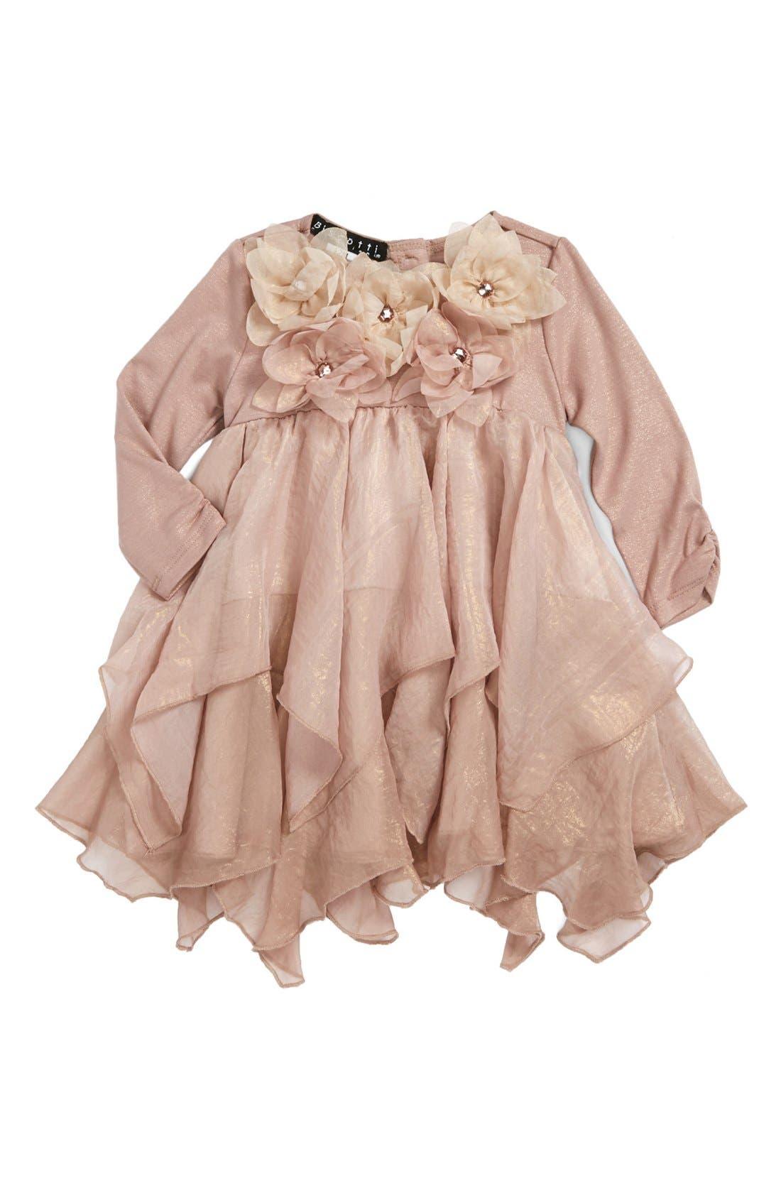 Ruffle Dress,                             Main thumbnail 1, color,                             710