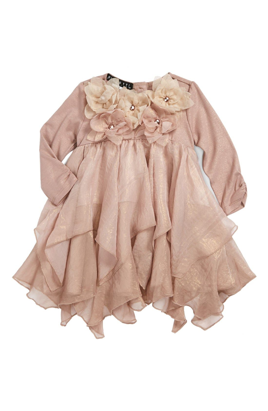 Ruffle Dress, Main, color, 710