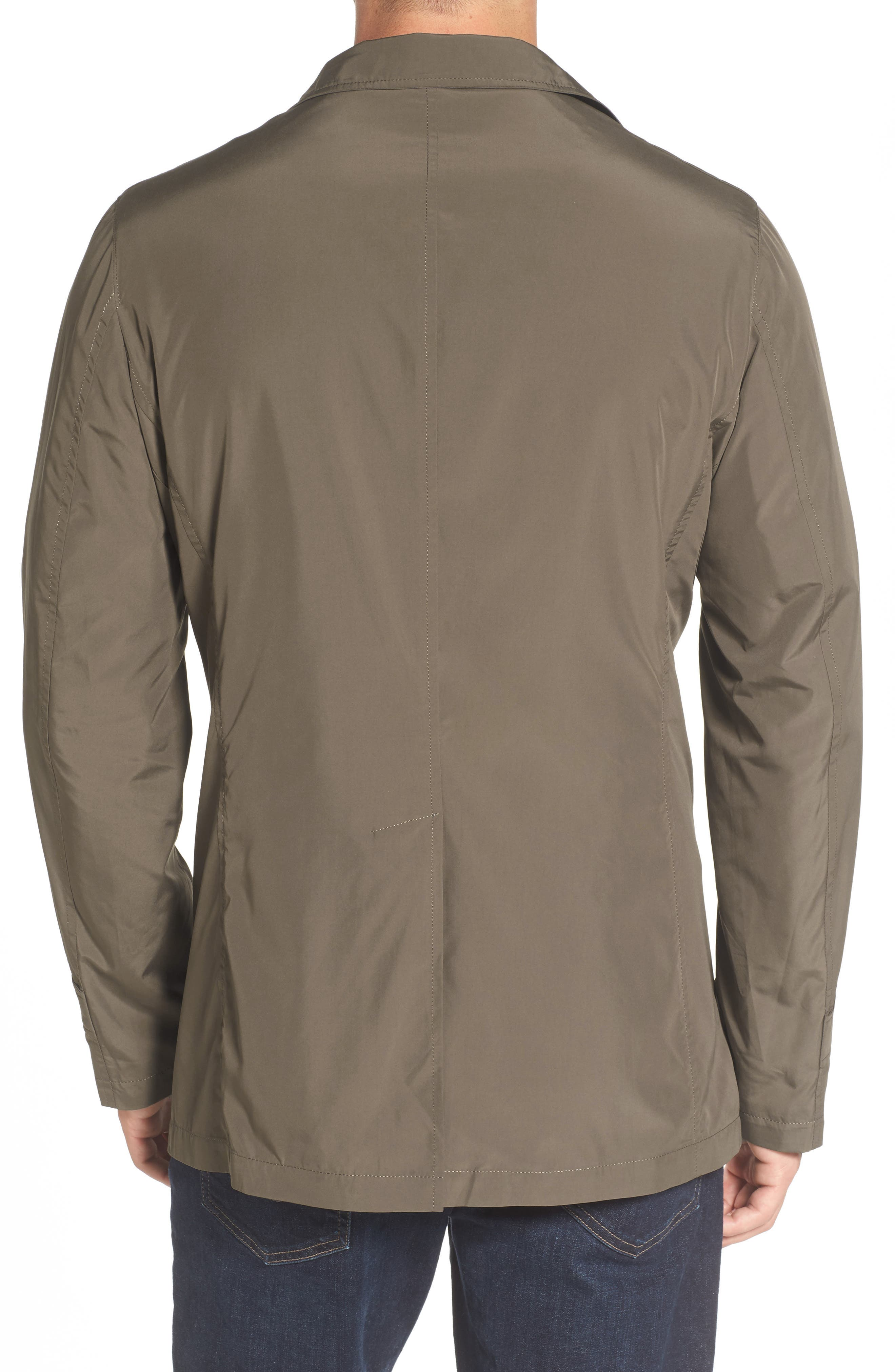 Packable Rain Coat,                             Alternate thumbnail 2, color,                             JAVA