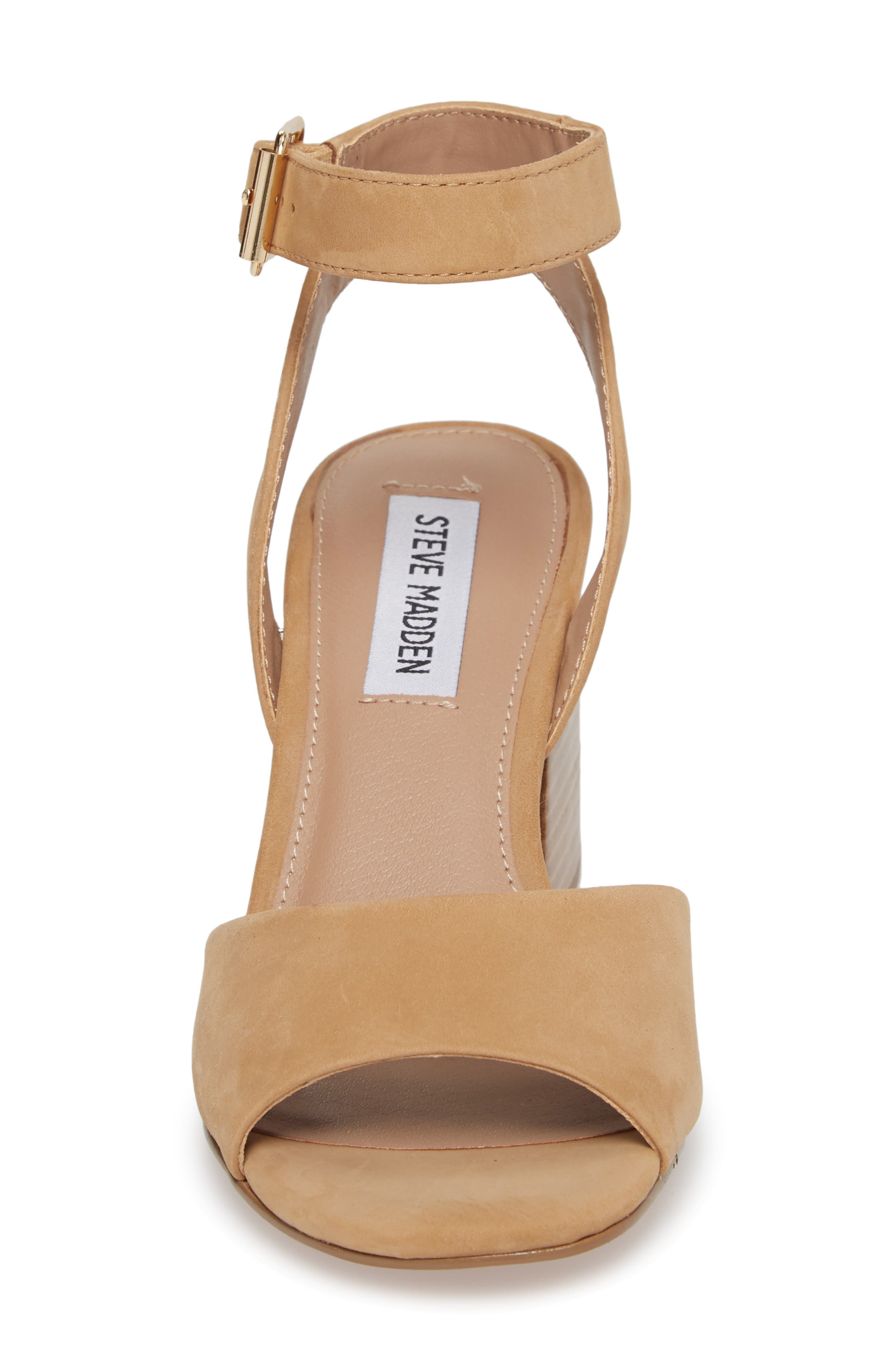 Devlin Block Heel Sandal,                             Alternate thumbnail 4, color,                             200