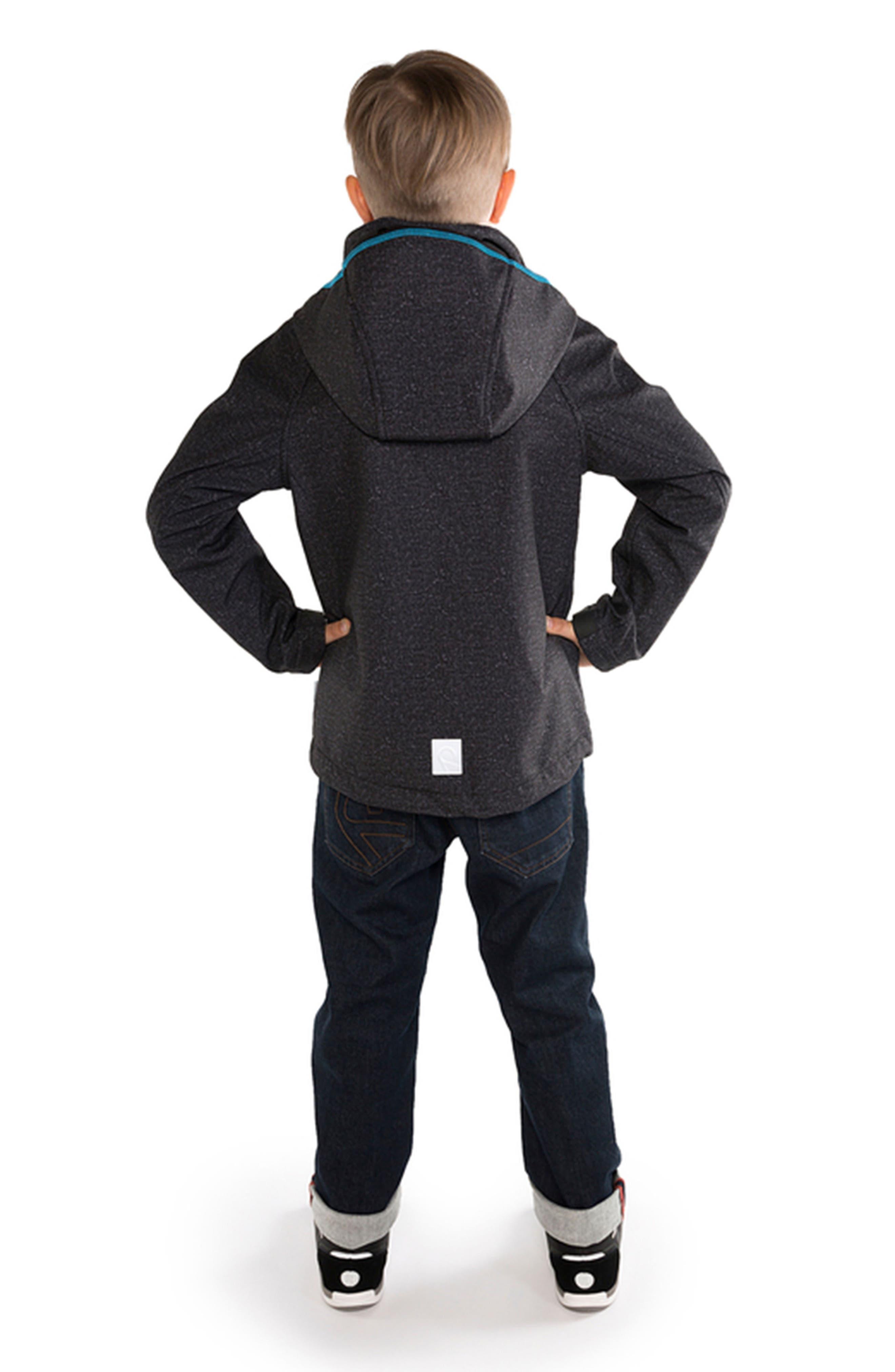 Zayak Waterproof Hooded Jacket,                             Alternate thumbnail 4, color,                             020