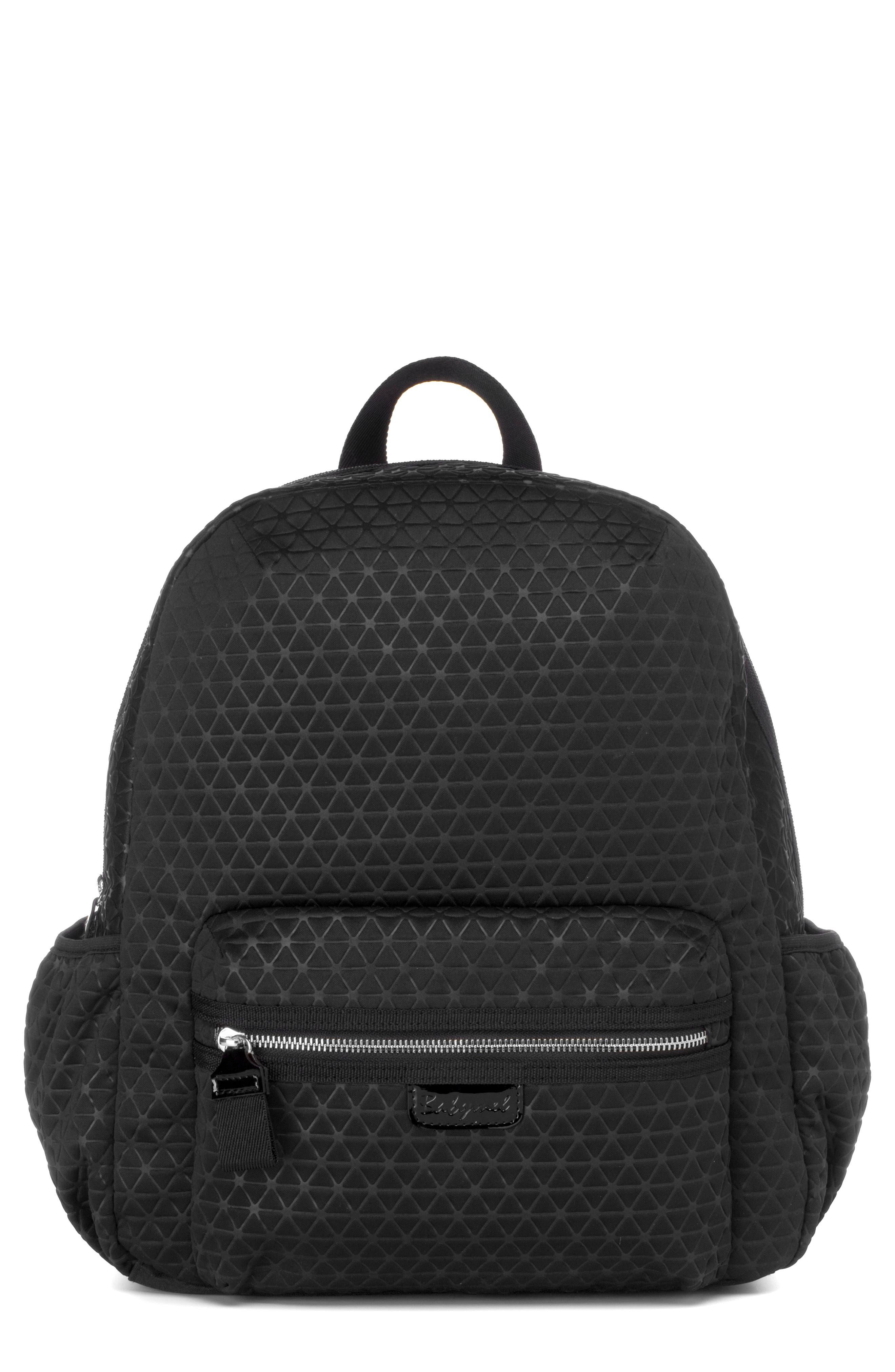 Luna Ultra Lite Diaper Backpack,                             Main thumbnail 1, color,                             BLACK