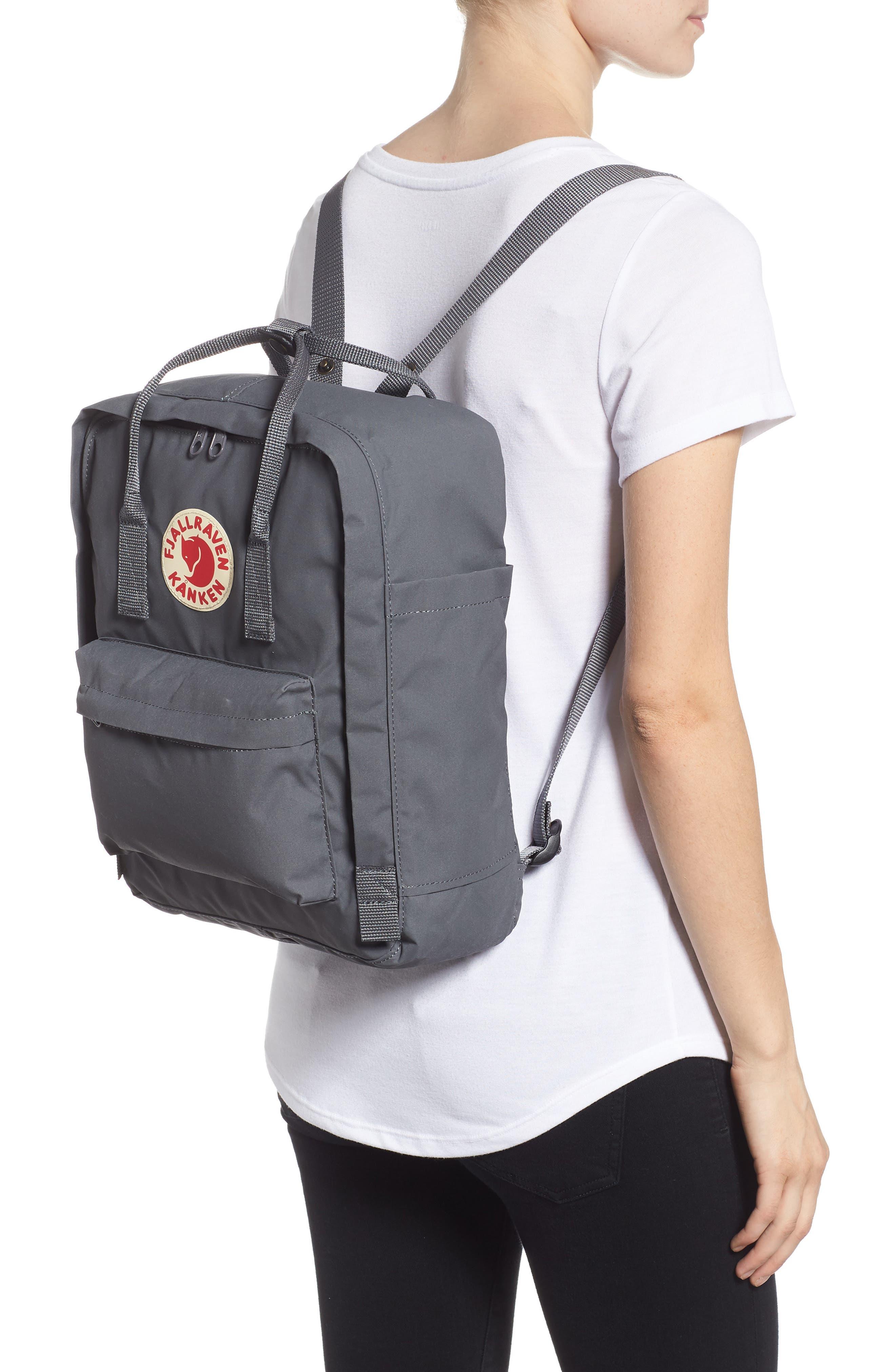 'Kånken' Water Resistant Backpack,                             Alternate thumbnail 2, color,                             SUPER GREY