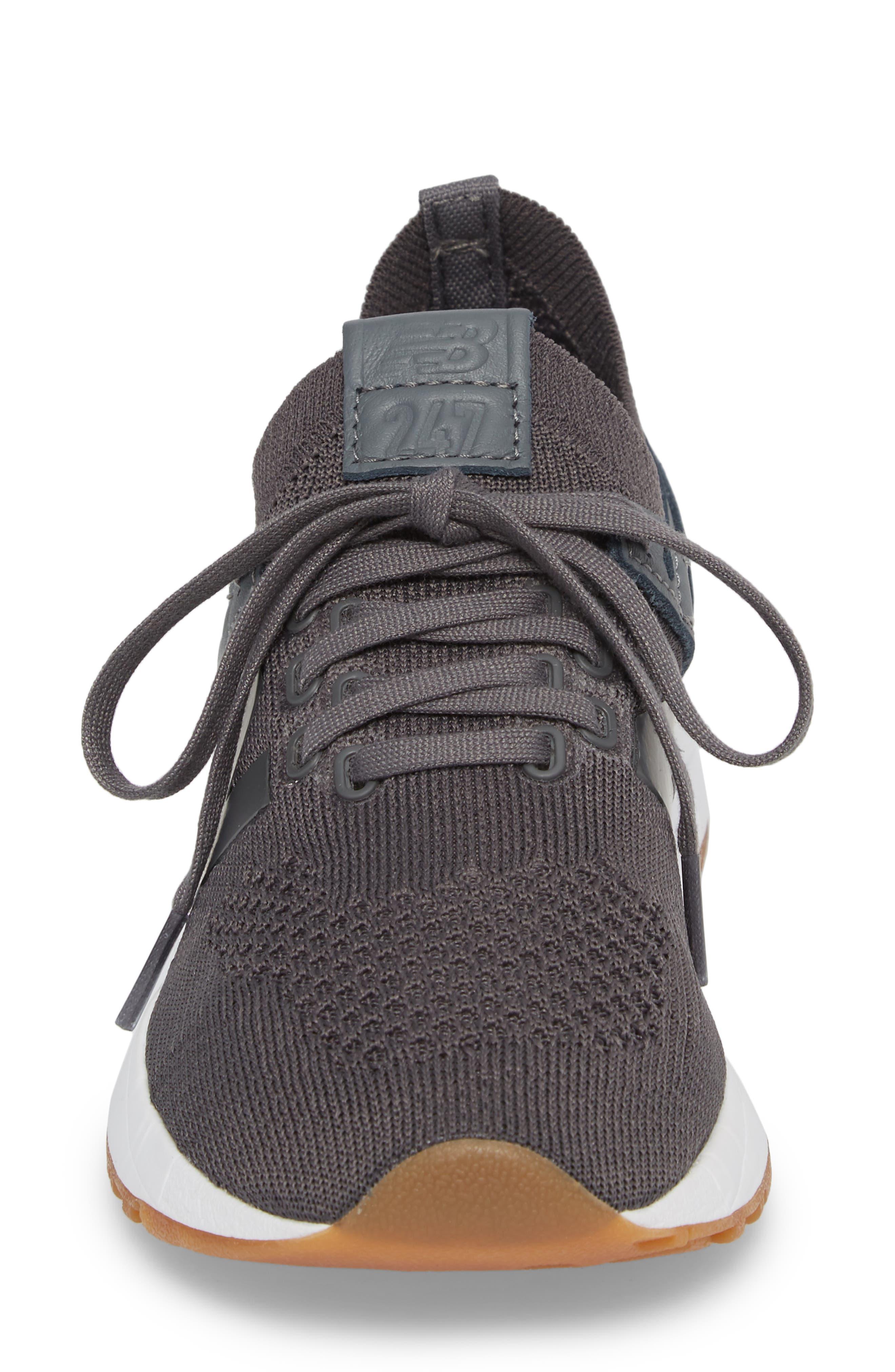247 Decon Knit Sneaker,                             Alternate thumbnail 4, color,                             030